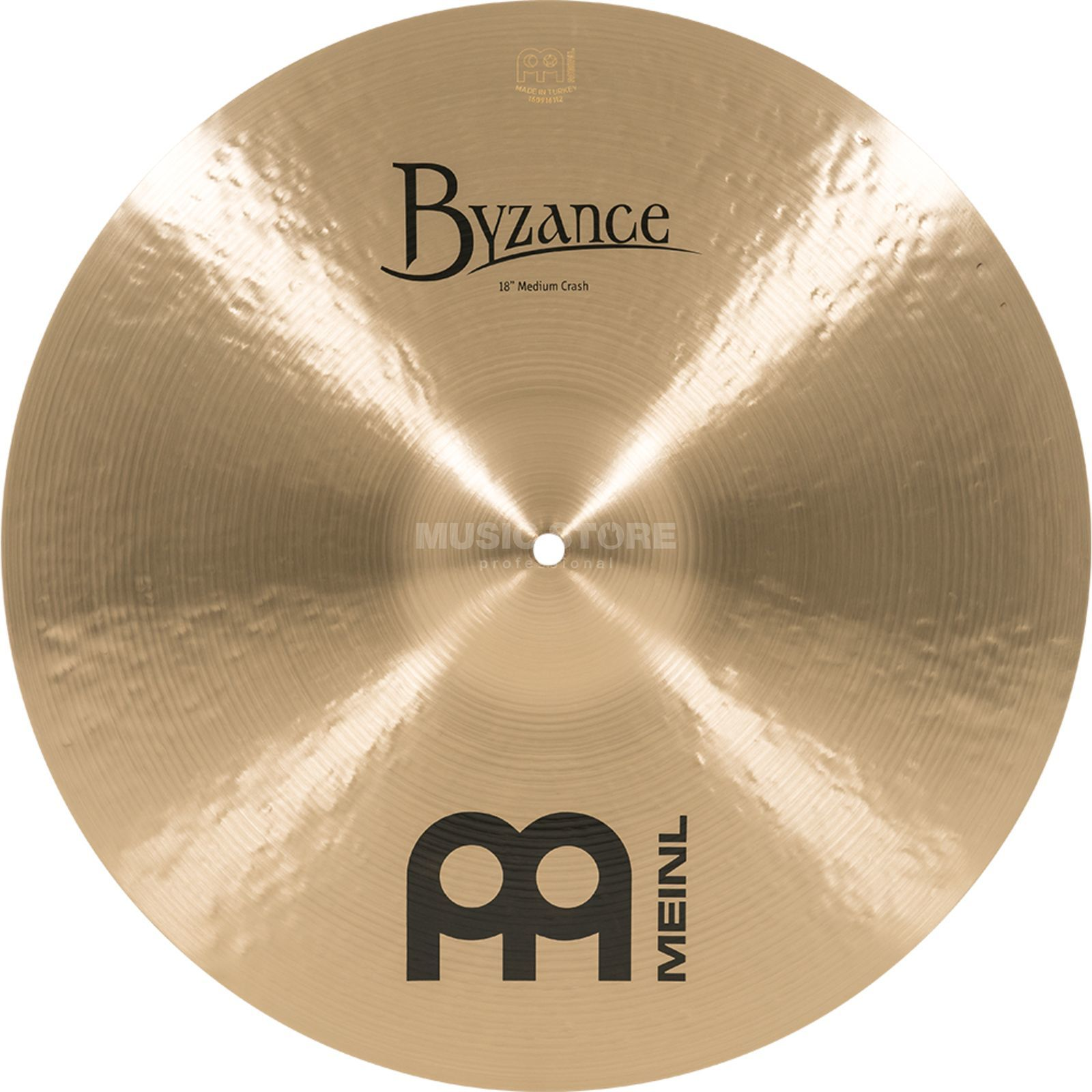 "Meinl Byzance Medium Crash 18"" B18MC, Traditional Finish Produktbillede"