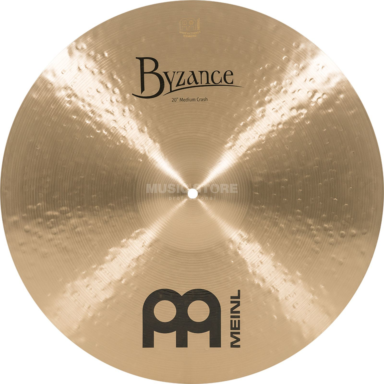 "Meinl Byzance Medium Crash 20"", B20MC, Traditional Finish Produktbillede"