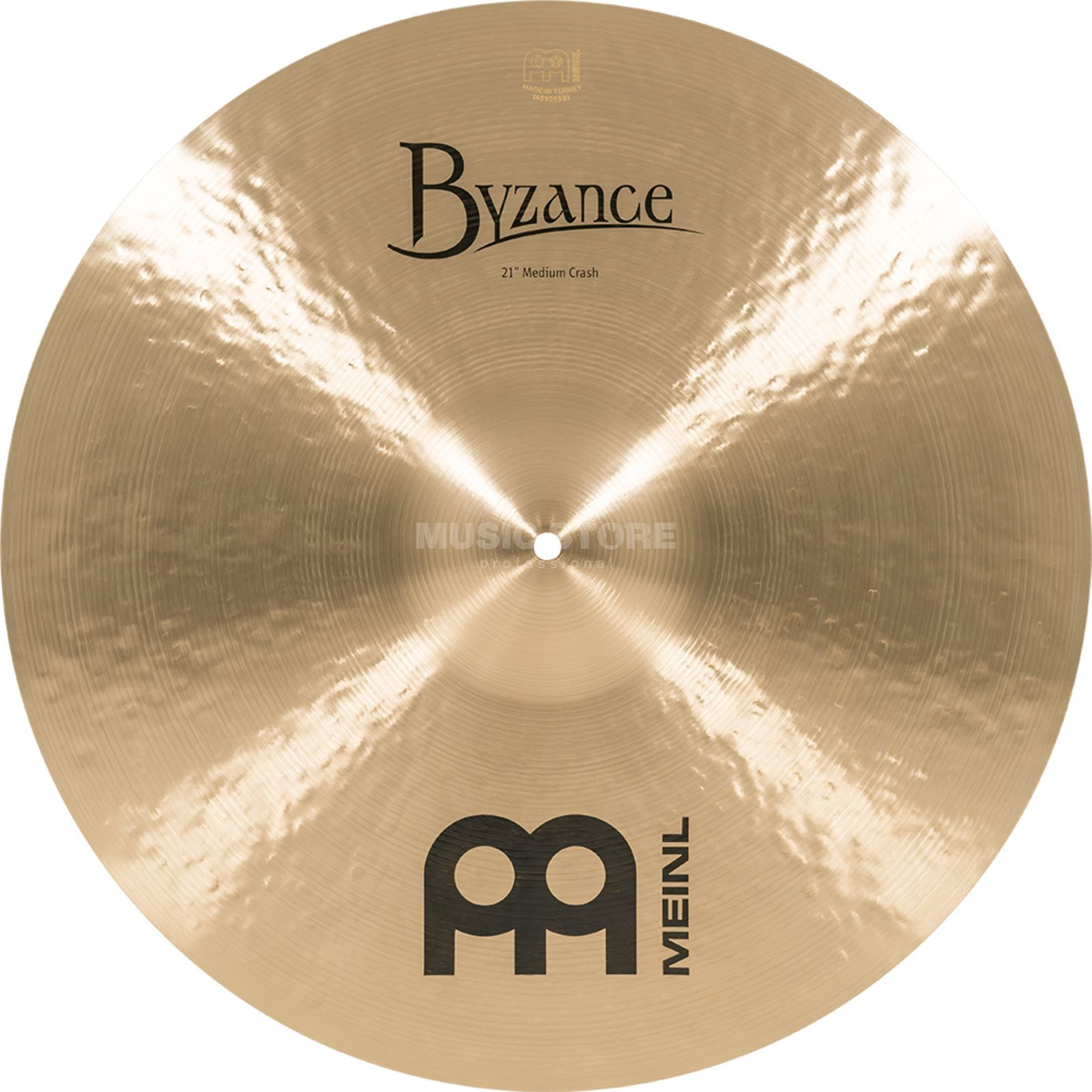 "Meinl Byzance Medium Crash 21"", B21MC, Traditional Finish Produktbild"