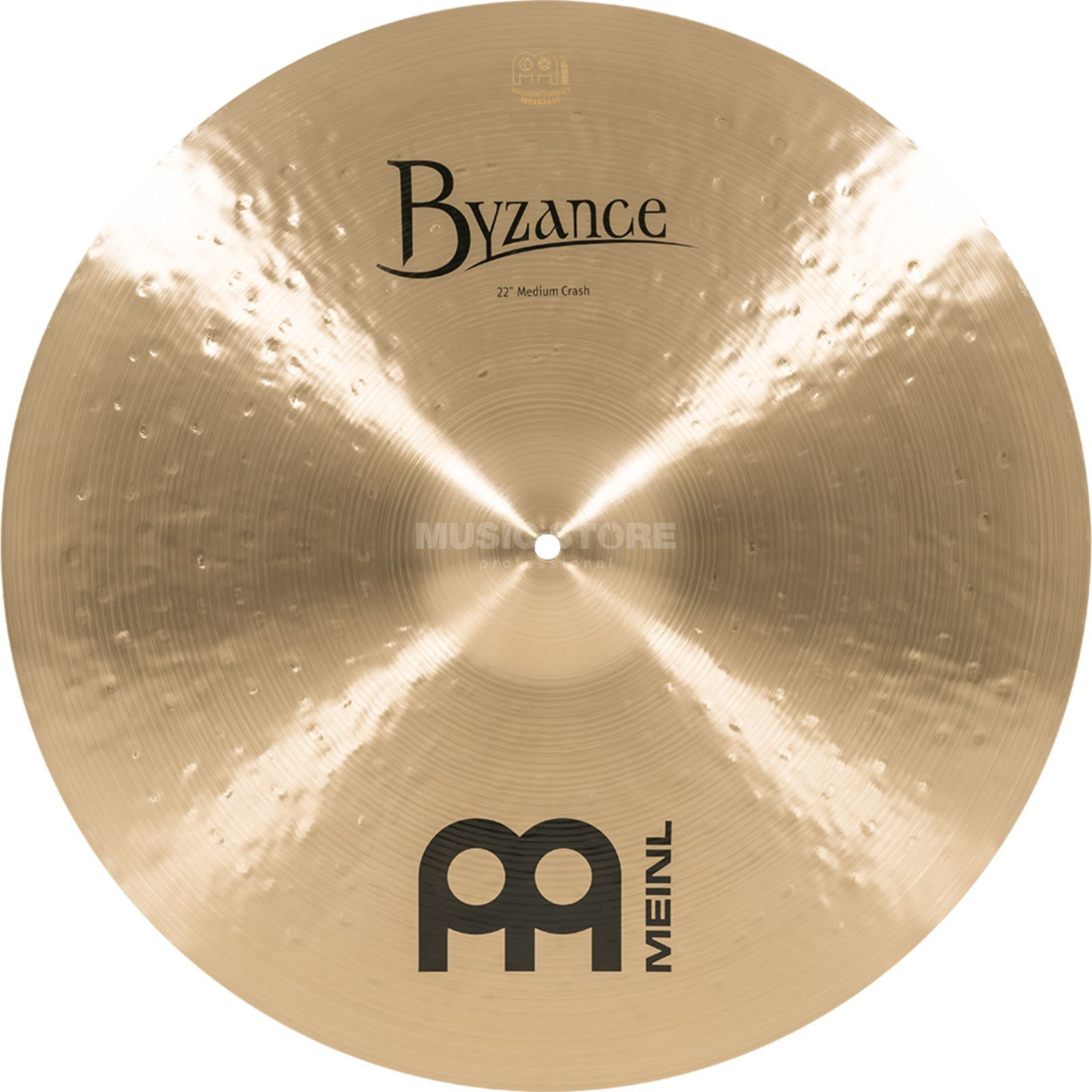 "Meinl Byzance Medium Crash 22"", B22 mC, finition traditionnelle Image du produit"