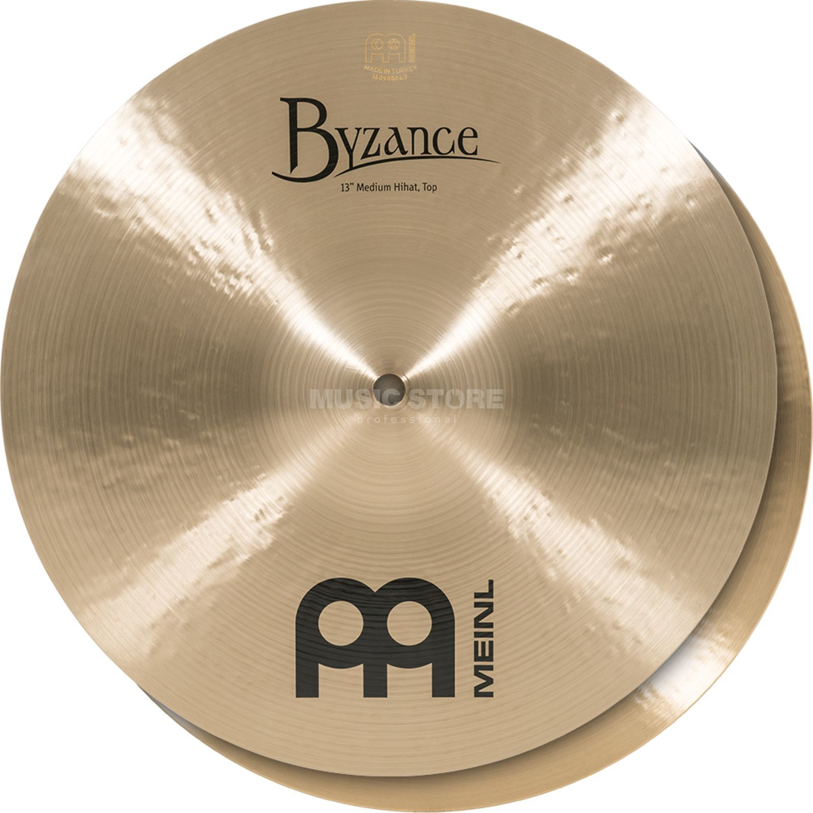 "Meinl Byzance Medium HiHat 13"", B13MH, Traditional Finish Produktbild"