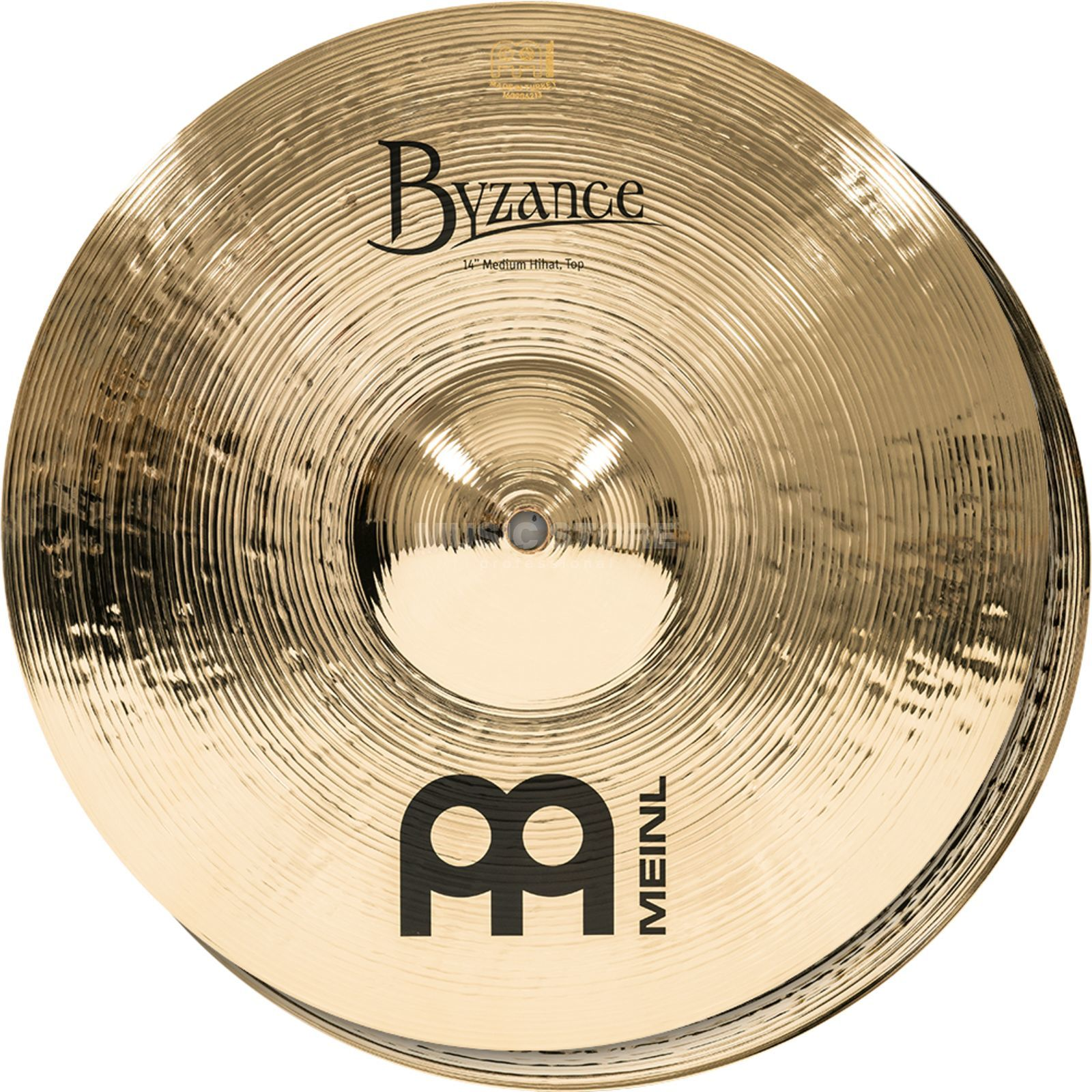 "Meinl Byzance Medium HiHat 14"" B14MH-B, Brilliant Finish Produktbillede"