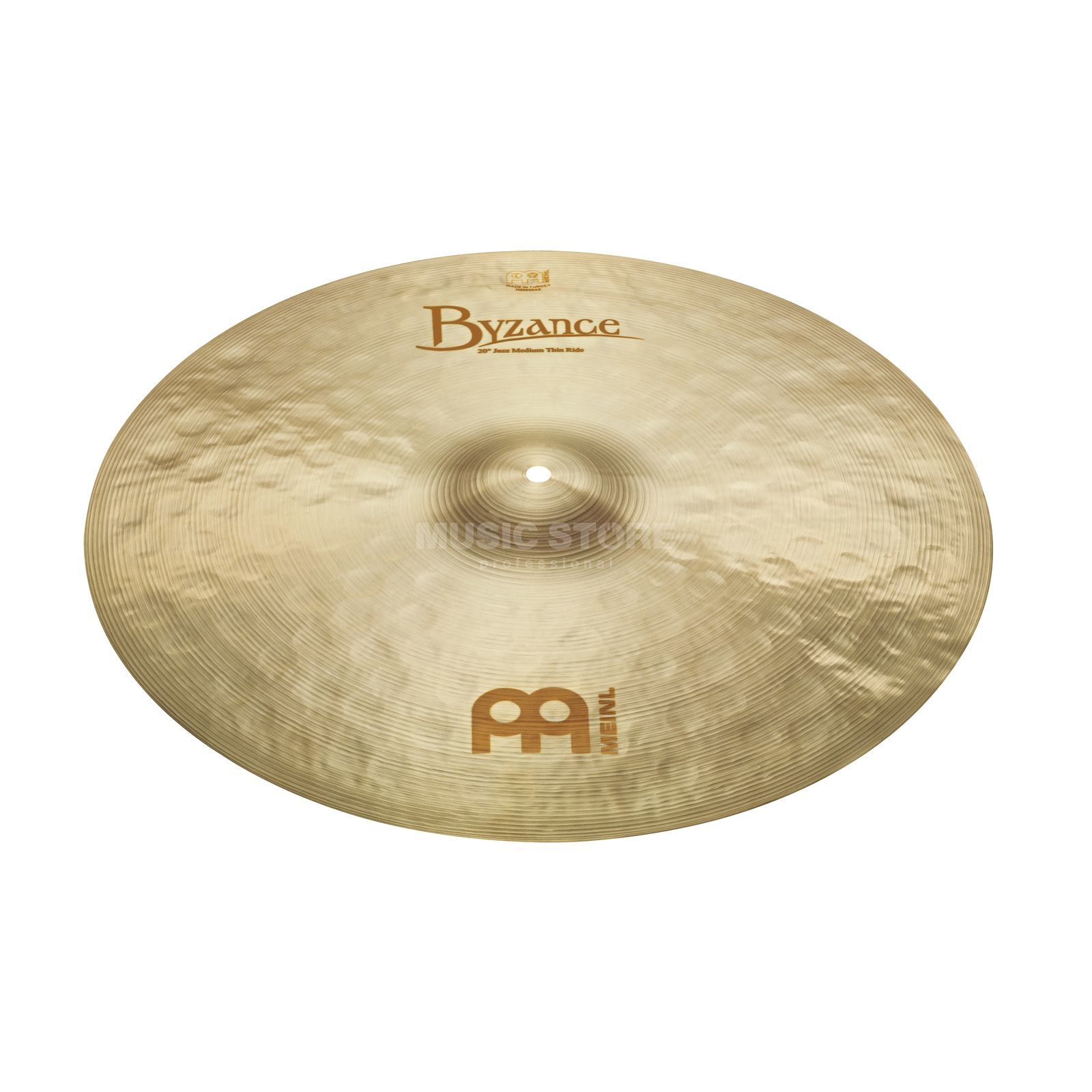 "Meinl Byzance Medium Ride 20"", B20JMR, Jazz Finish Produktbillede"