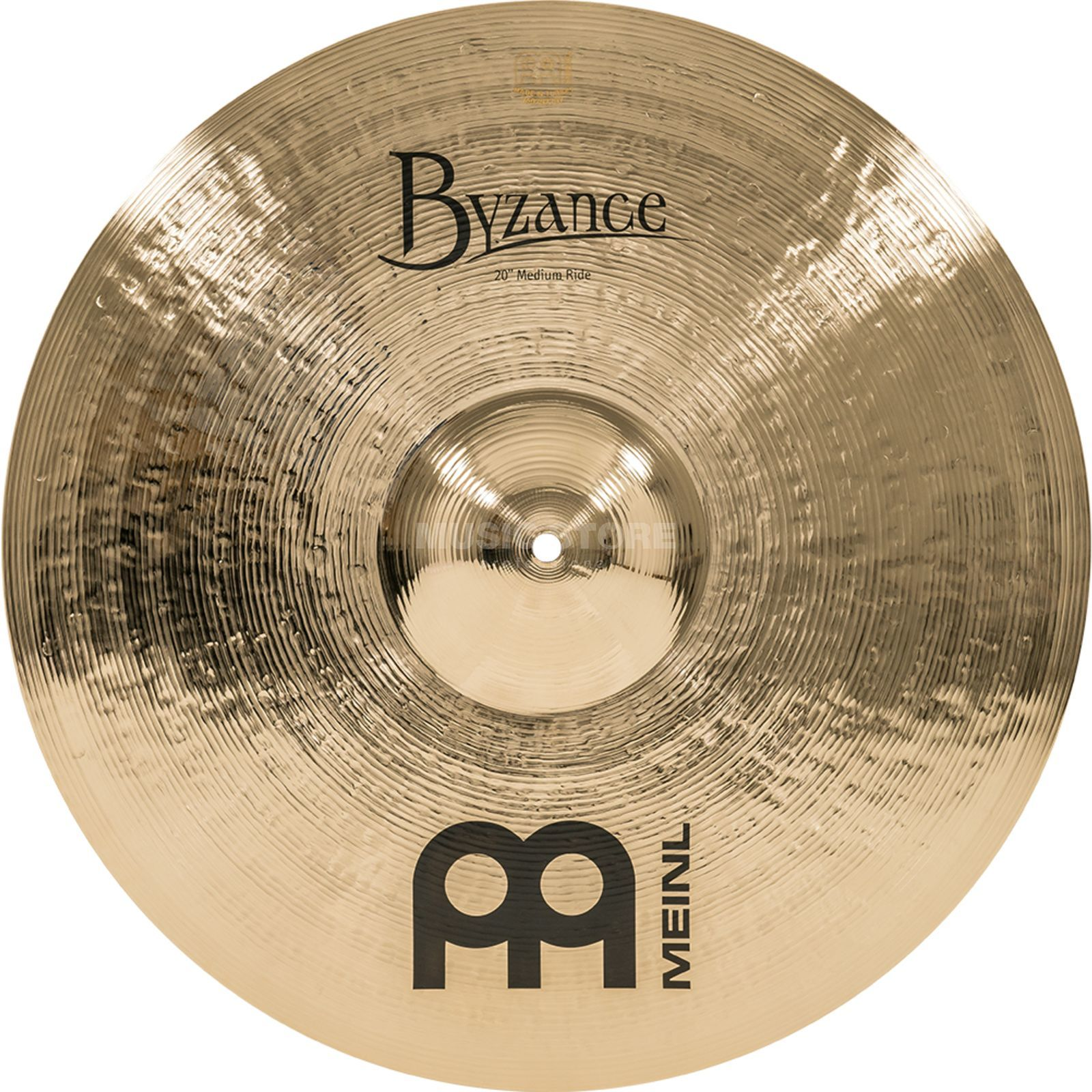 "Meinl Byzance Medium Ride 20"" B20MR-B, finition brillante Image du produit"