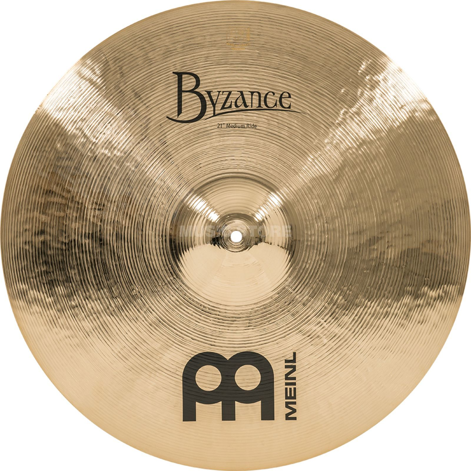 "Meinl Byzance Medium Ride 21"", B21MR-B, Brilliant Finish Produktbillede"