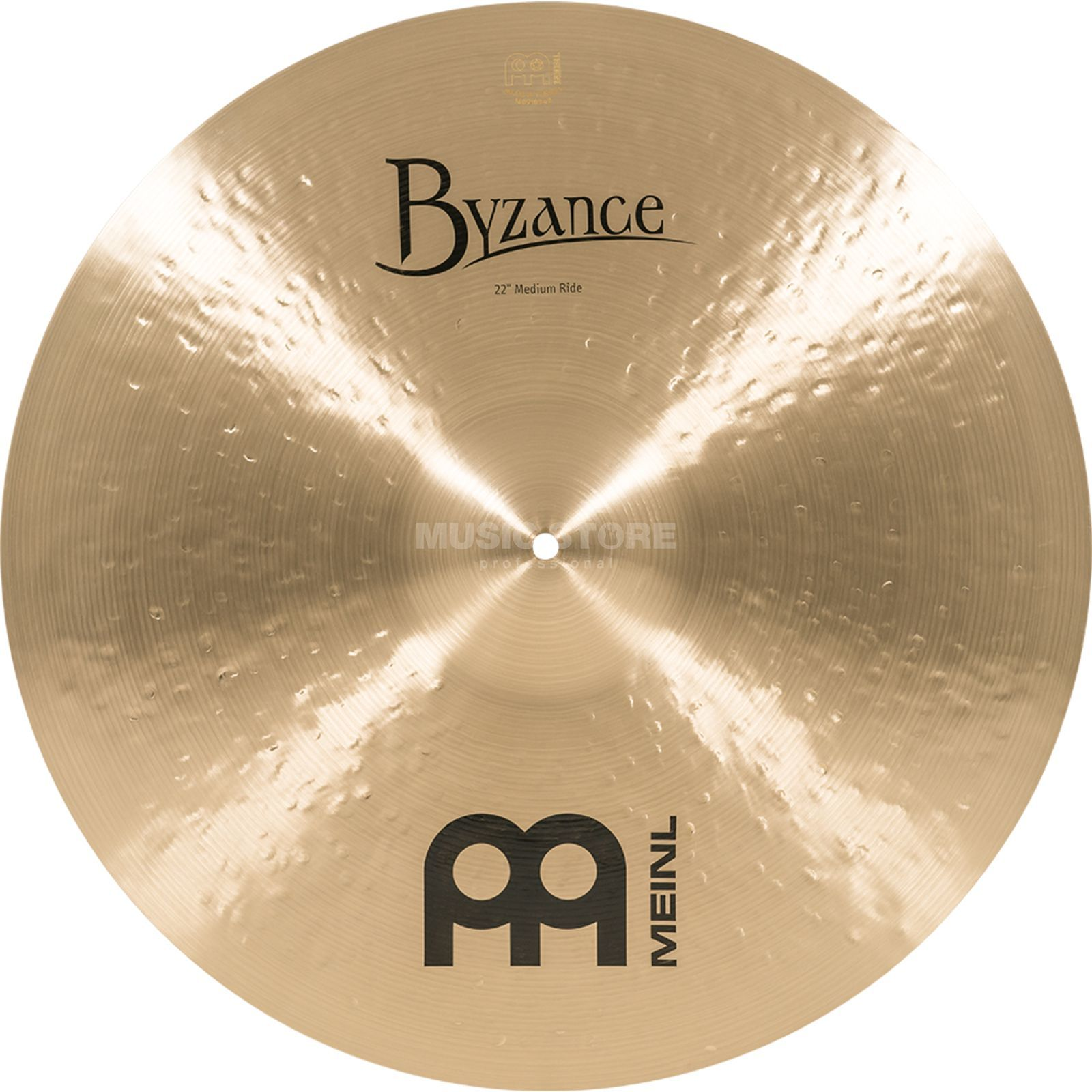 "Meinl Byzance Medium Ride 22"" B22MR, Traditional Finish Imagem do produto"