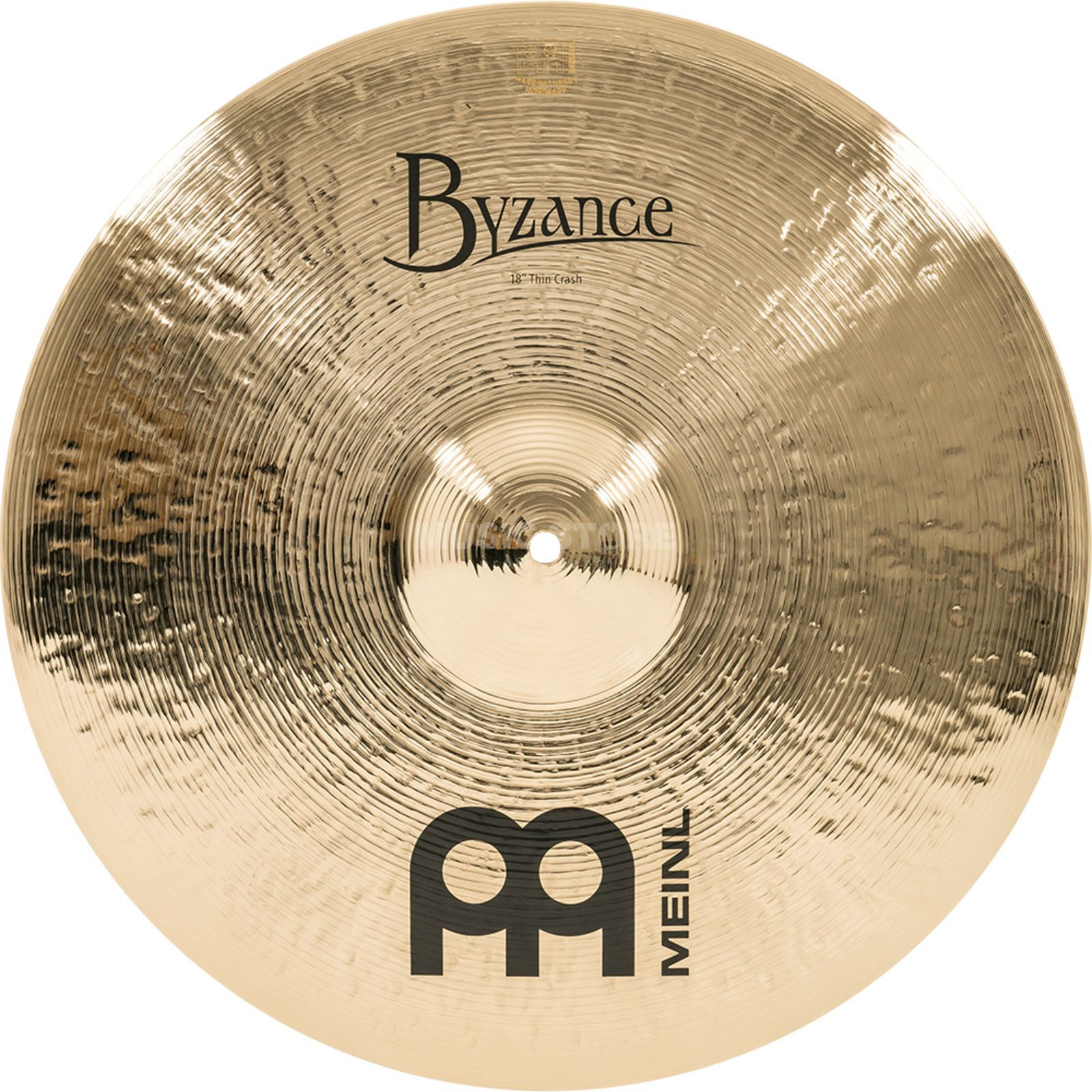 "Meinl Byzance Medium Thin Crash 18"" B18MTC-B, Brilliant Finish Produktbillede"
