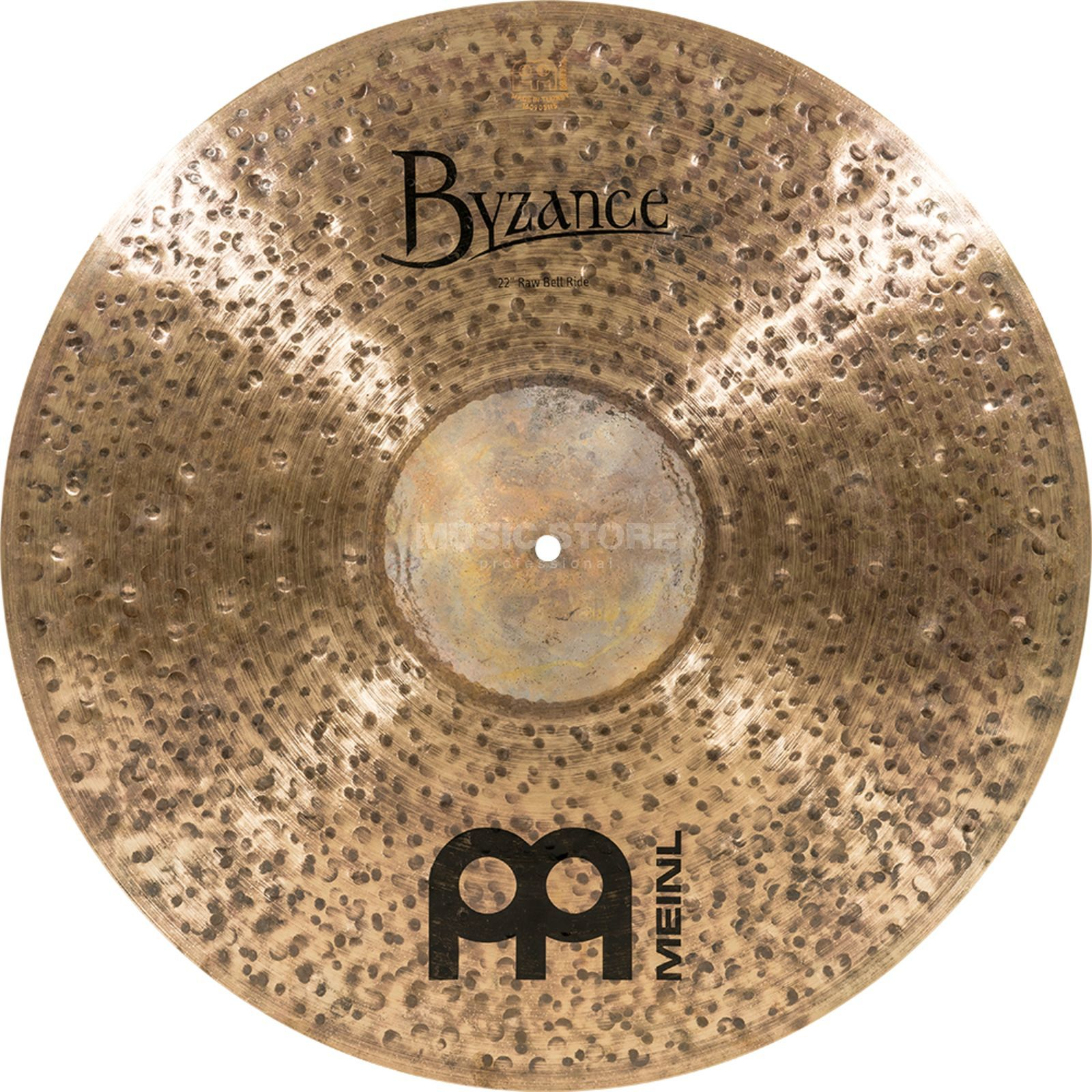 "Meinl Byzance Raw Bell Ride 22"", B22RBR, Dark Finish Produktbillede"