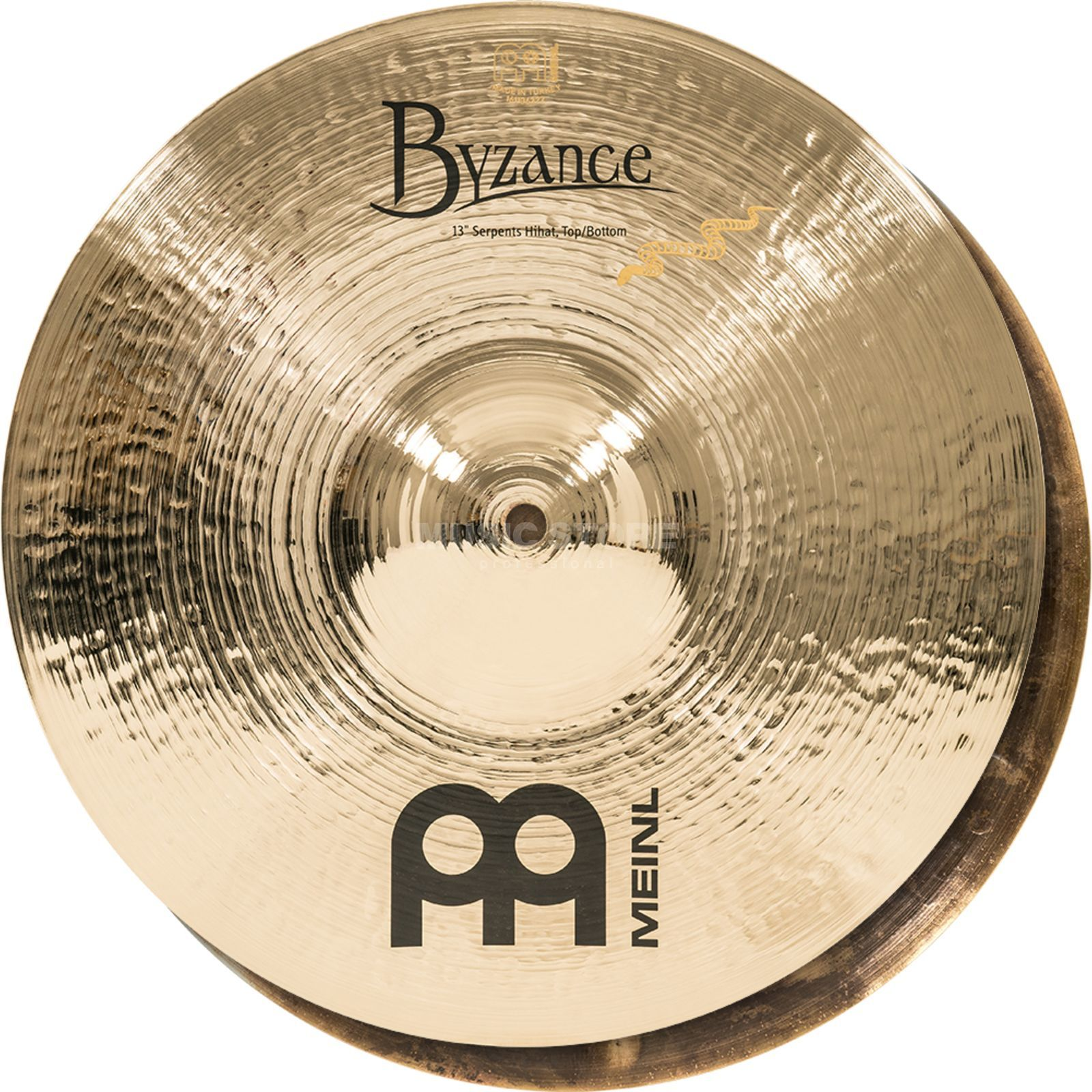 "Meinl Byzance Serpents HiHat 13"", B13SH-B, Brilliant Finish Produktbild"