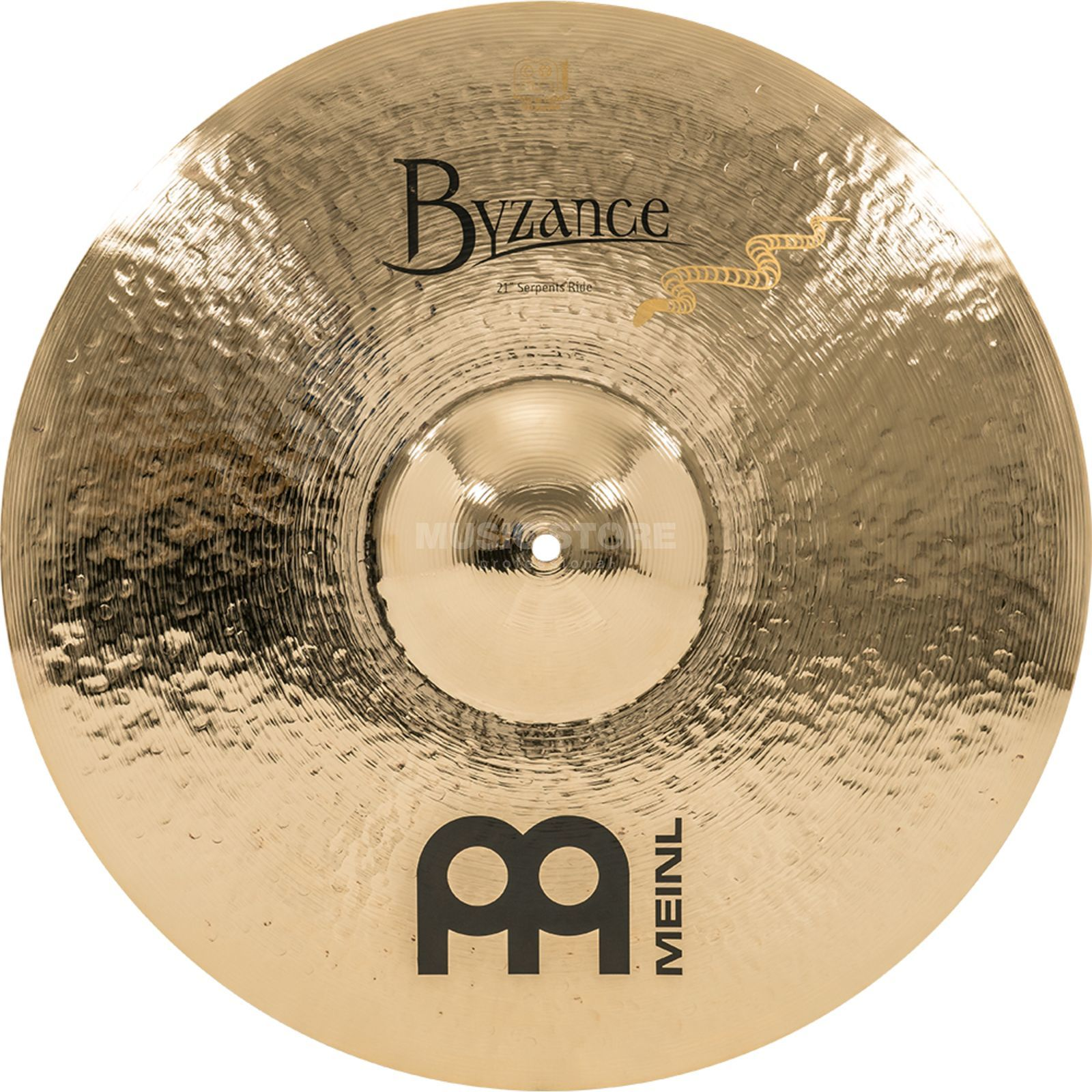 "Meinl Byzance Serpents Ride 21"", B21SR-B, Brilliant Finish Productafbeelding"
