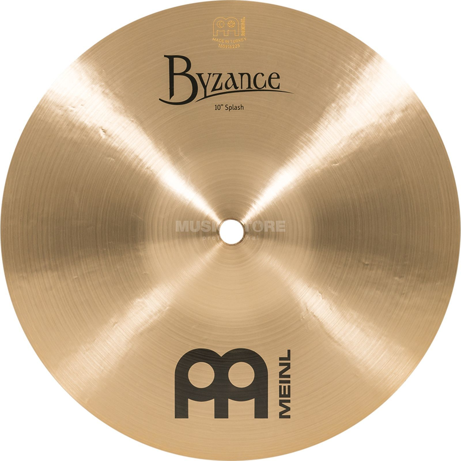 "Meinl Byzance Splash 10"" B10S, Traditional Finish Produktbillede"