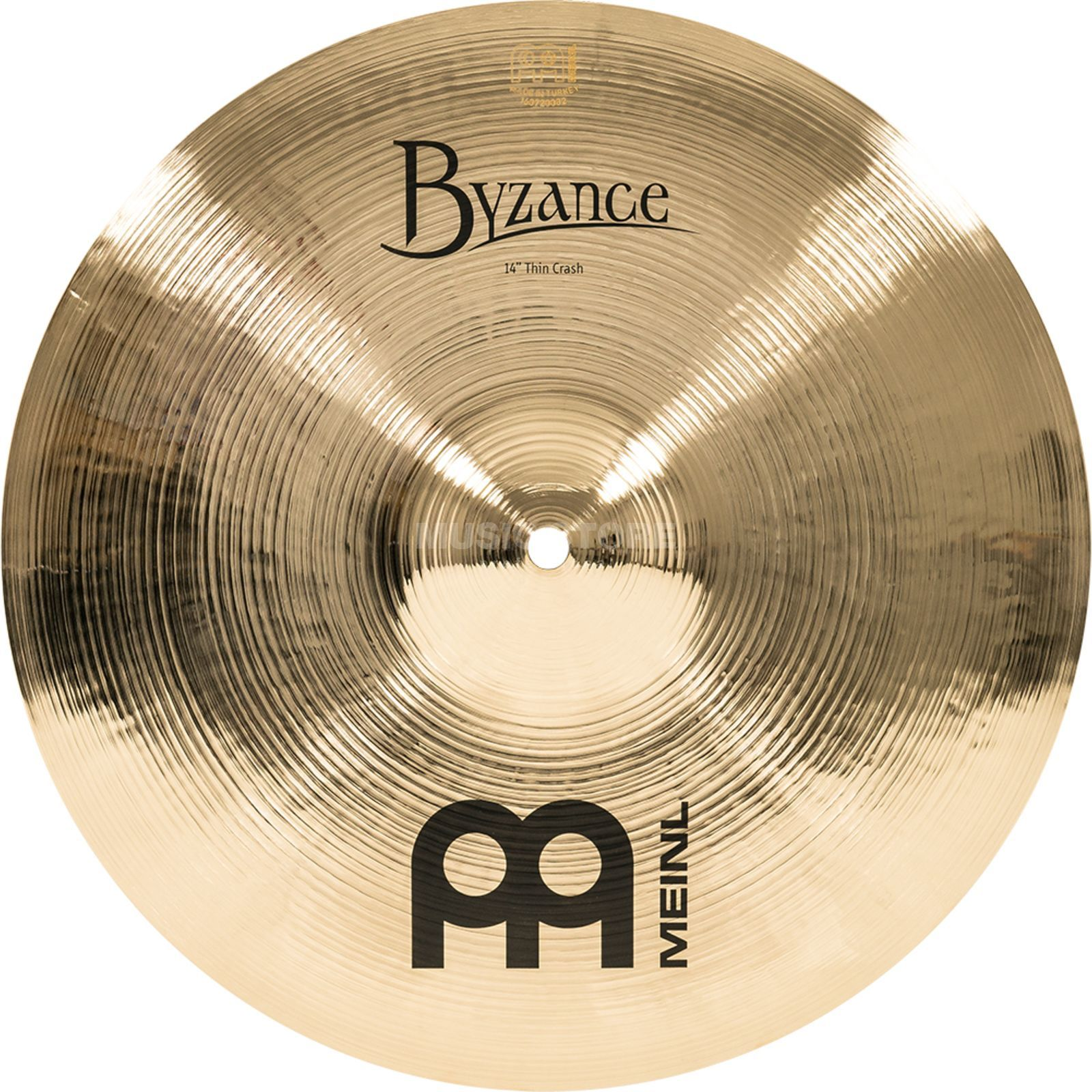 "Meinl Byzance Thin Crash 14"" B14TC-B, finition brillante Image du produit"