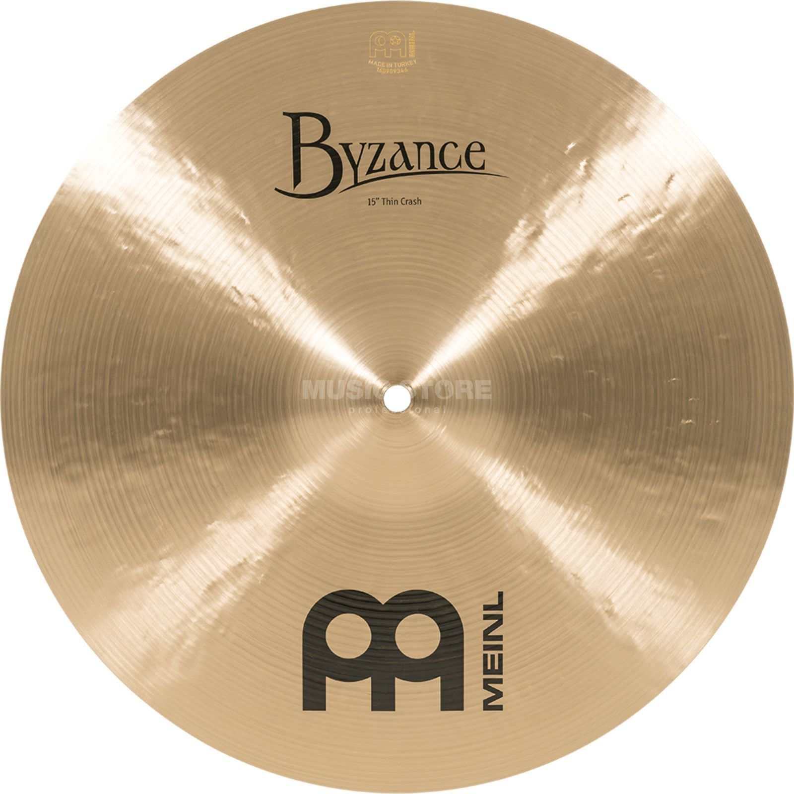 "Meinl Byzance Thin Crash 15"", B15TC, Traditional Finish Product Image"