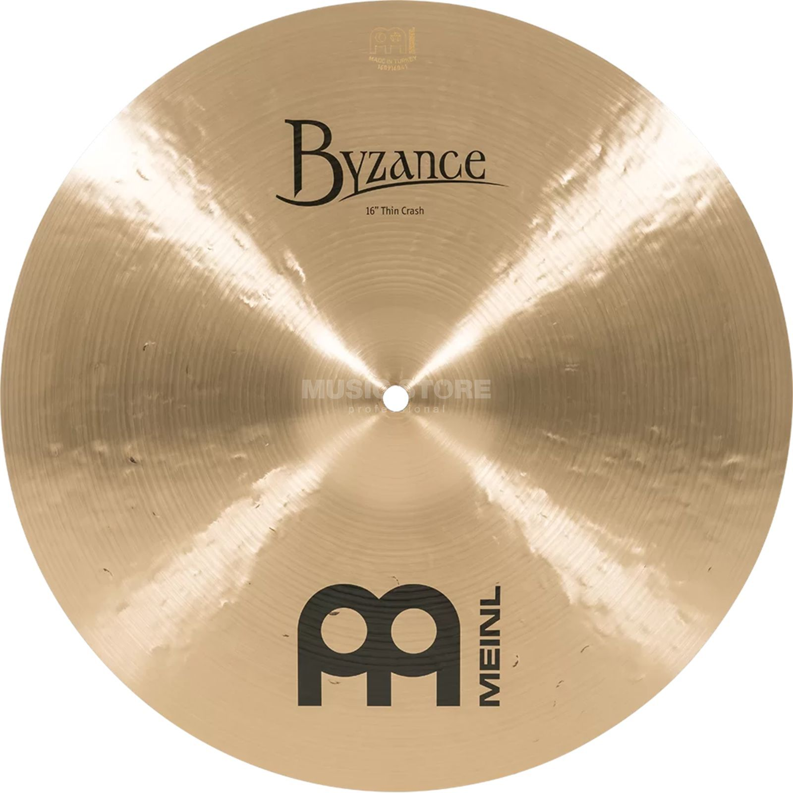 "Meinl Byzance Thin Crash 16"", B16TC, Traditional Finish Produktbillede"