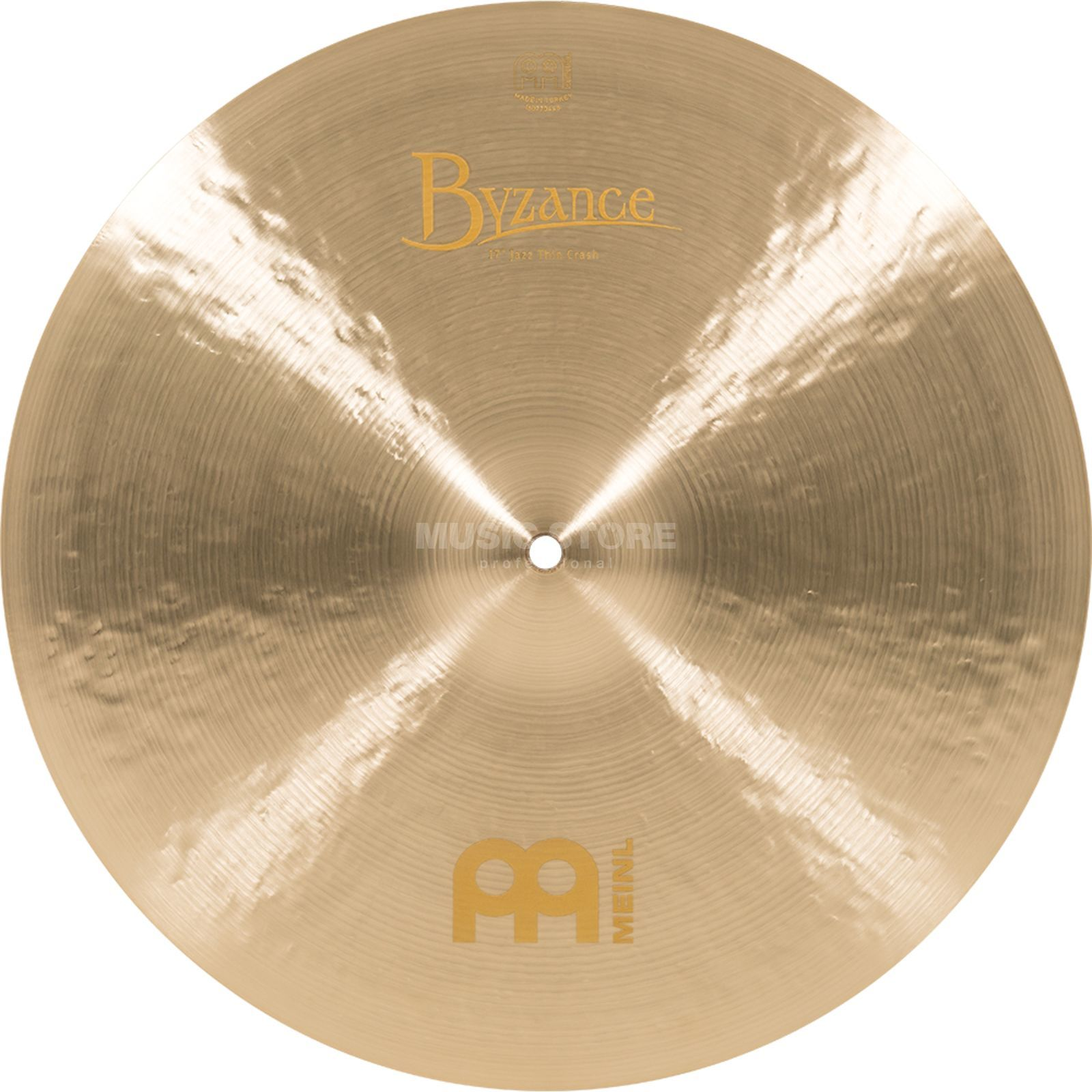 "Meinl Byzance Thin Crash 17"", B17JTC, Jazz Finish Produktbild"
