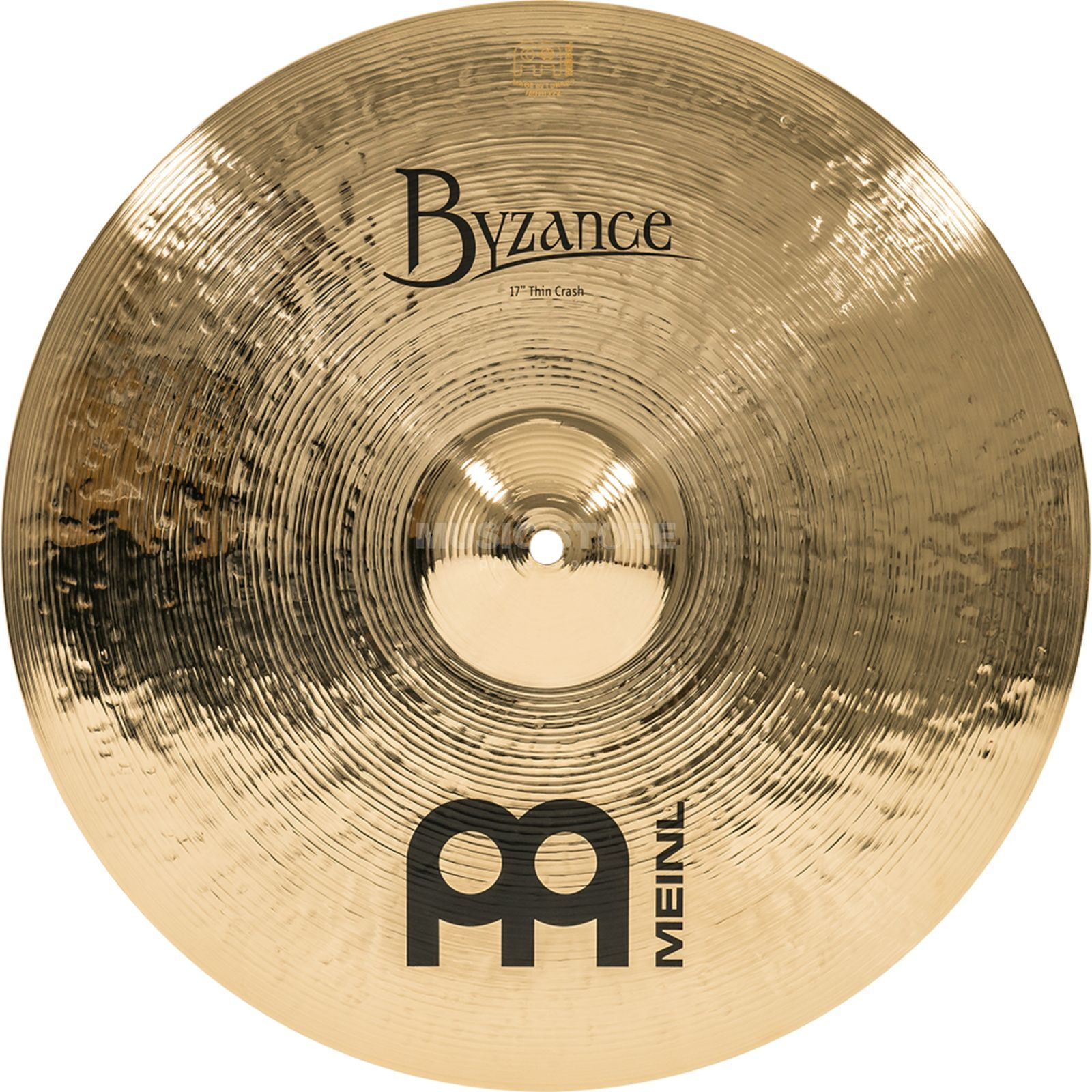 "Meinl Byzance Thin Crash 17"" B17TC-B, Brilliant Finish Product Image"