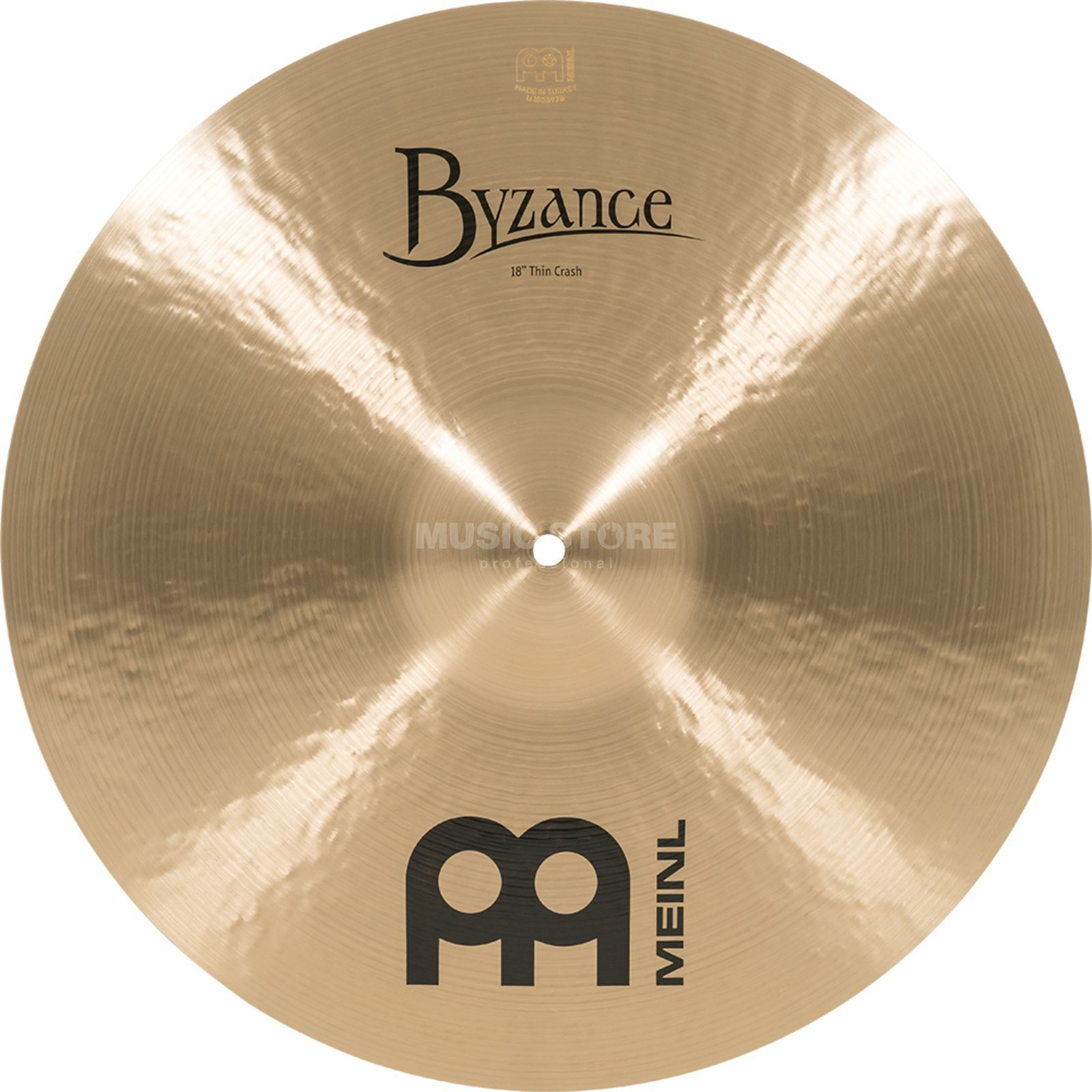 "Meinl Byzance Thin Crash 18"", B18TC, Traditional Finish Produktbillede"
