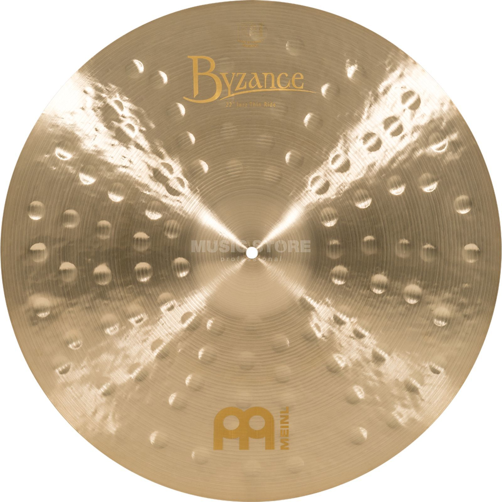 "Meinl Byzance Thin Ride 22"" B22JTR, Jazz Finish Produktbild"