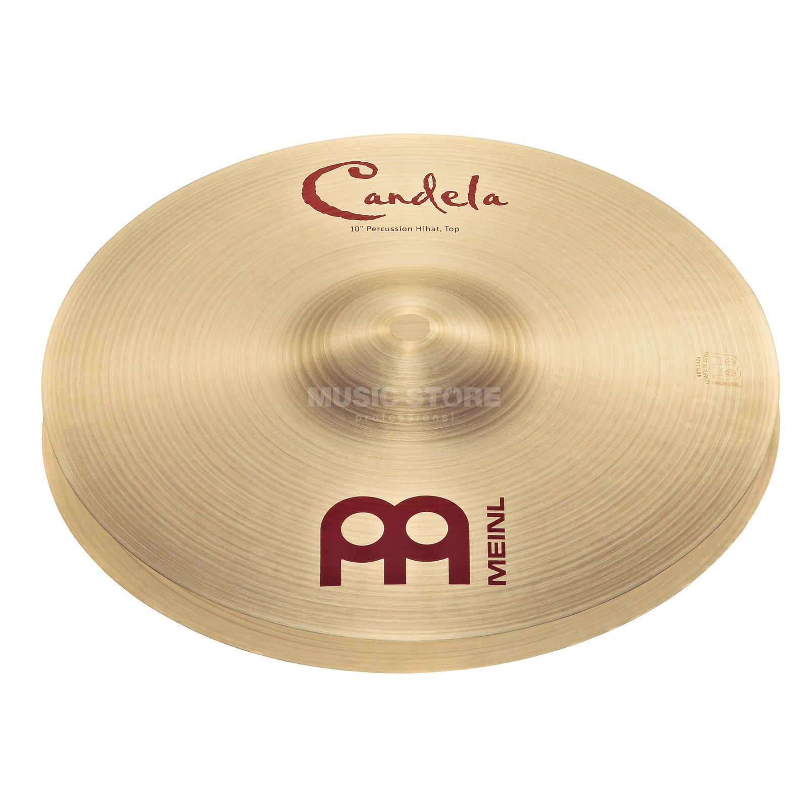 "Meinl Candela HiHat 10"", CA10PH, Percussion Cymbal Produktbillede"