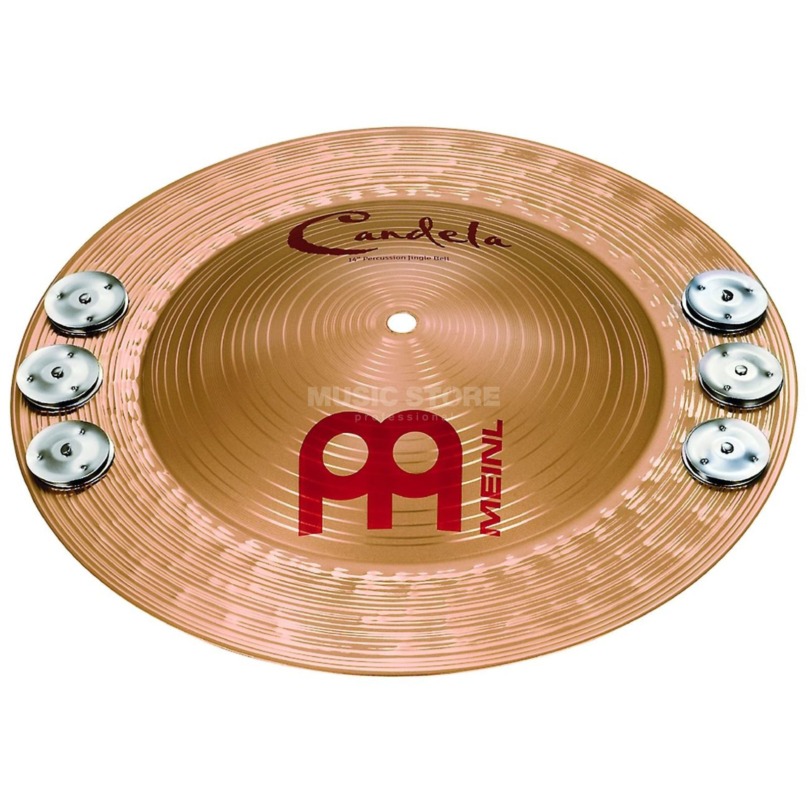 "Meinl Candela JingleBell 14"", CA14PJB, Percussion Cymbal Product Image"