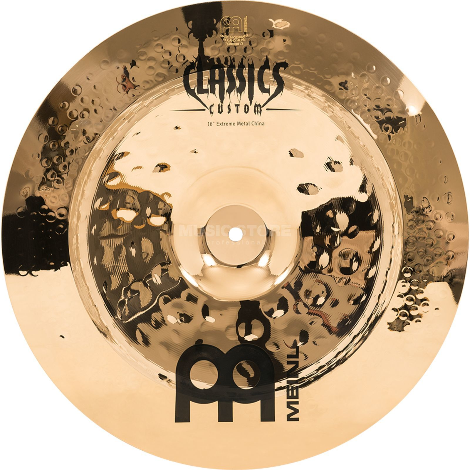 "Meinl Classics Custom China 16"", CC16EMCH-B, Extreme Metal Produktbillede"