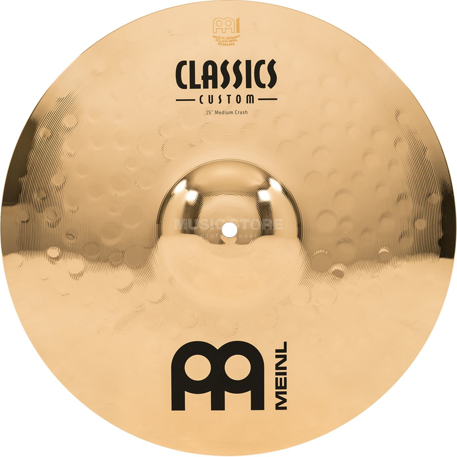 "Meinl Classics Custom Crash 15"" CC15MC-B, Medium Produktbillede"