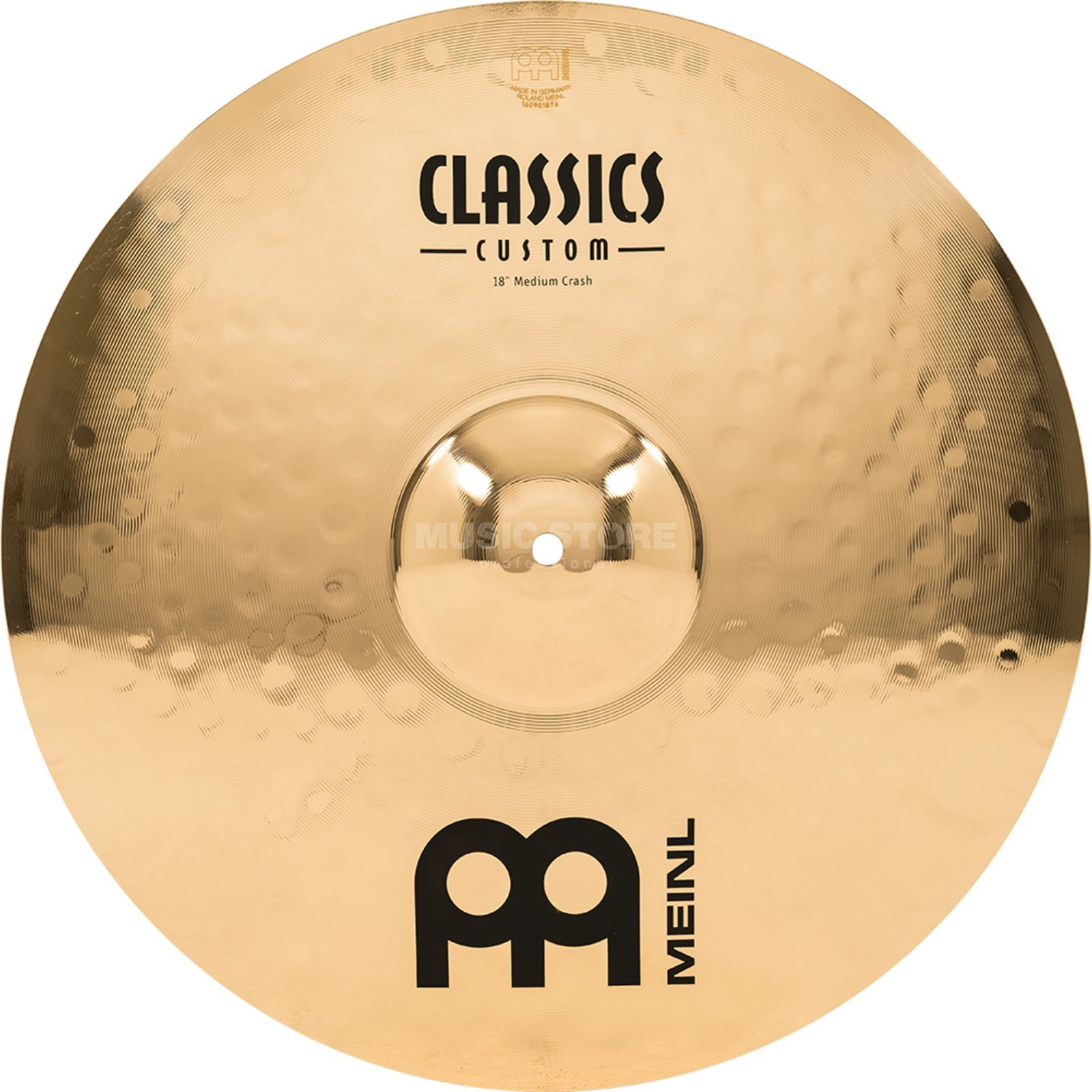 "Meinl Classics Custom Crash 18"" CC18MC-B, Medium Produktbillede"
