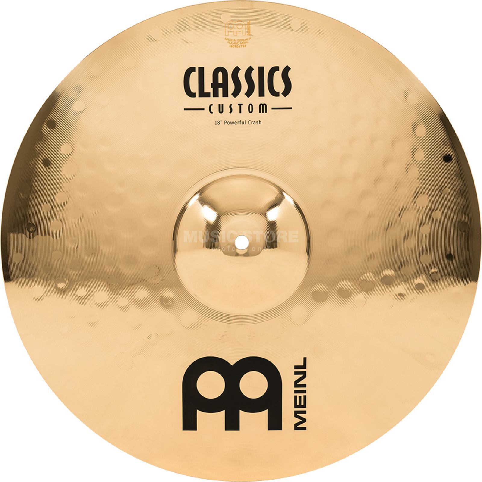 "Meinl Classics Custom Crash 18"" CC18PC-B, Powerful Produktbild"