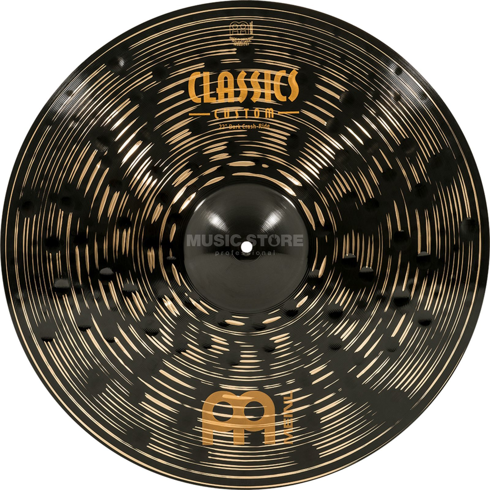"Meinl Classics Custom Crash-Ride 22"", CC22DACR, Dark Produktbillede"
