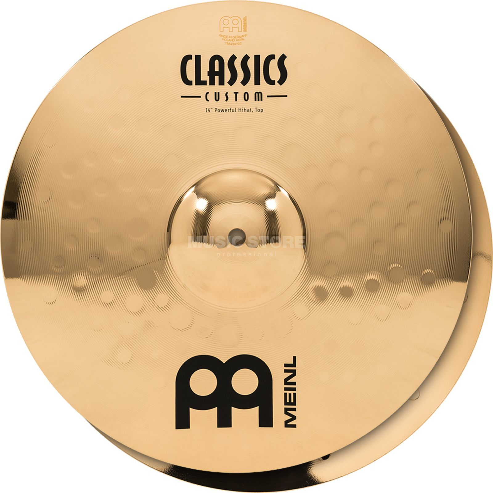 "Meinl Classics Custom HiHat 14"" CC14PH-B, Powerful Produktbild"