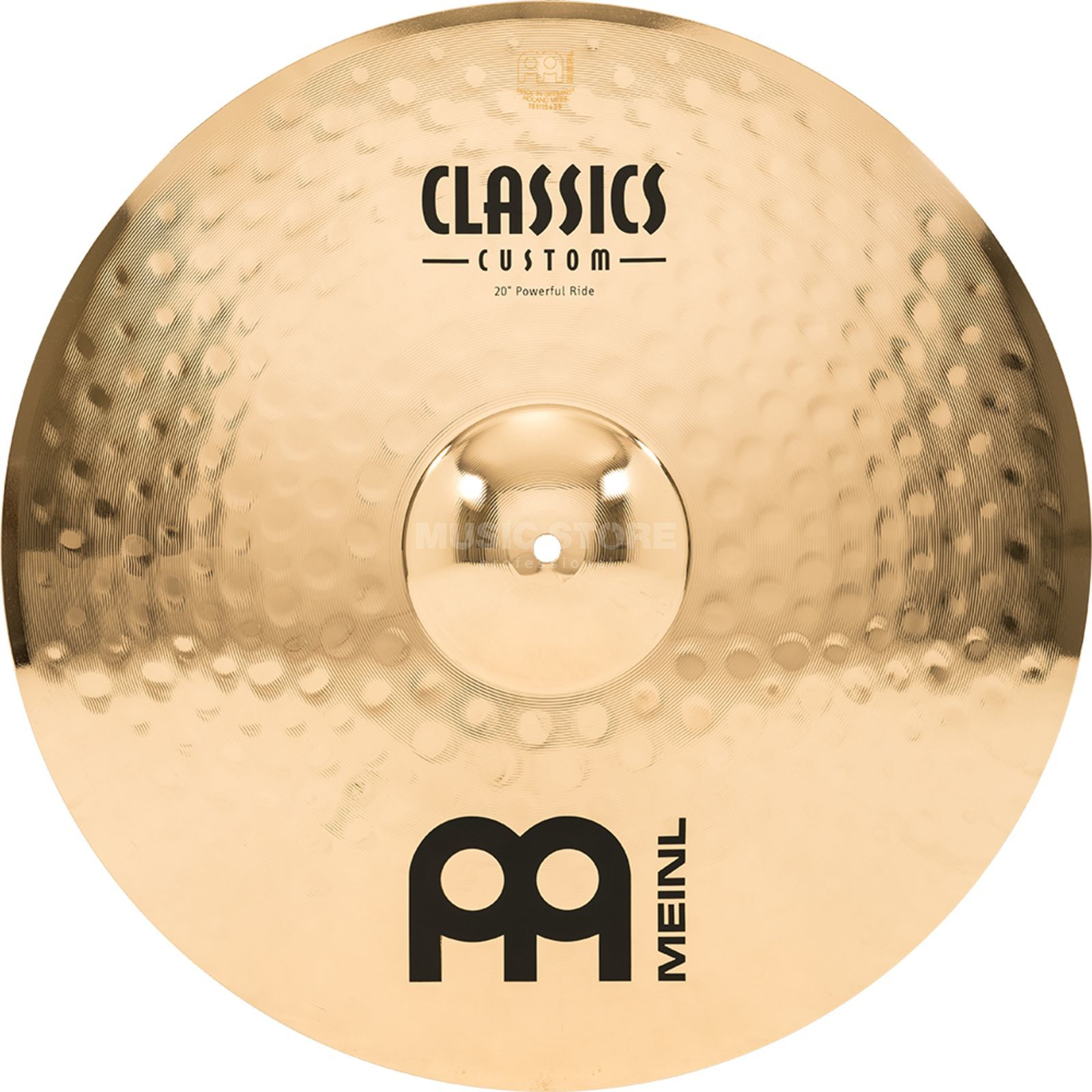 "Meinl Classics Custom Ride 20"", CC20PR-B, Powerful Produktbillede"