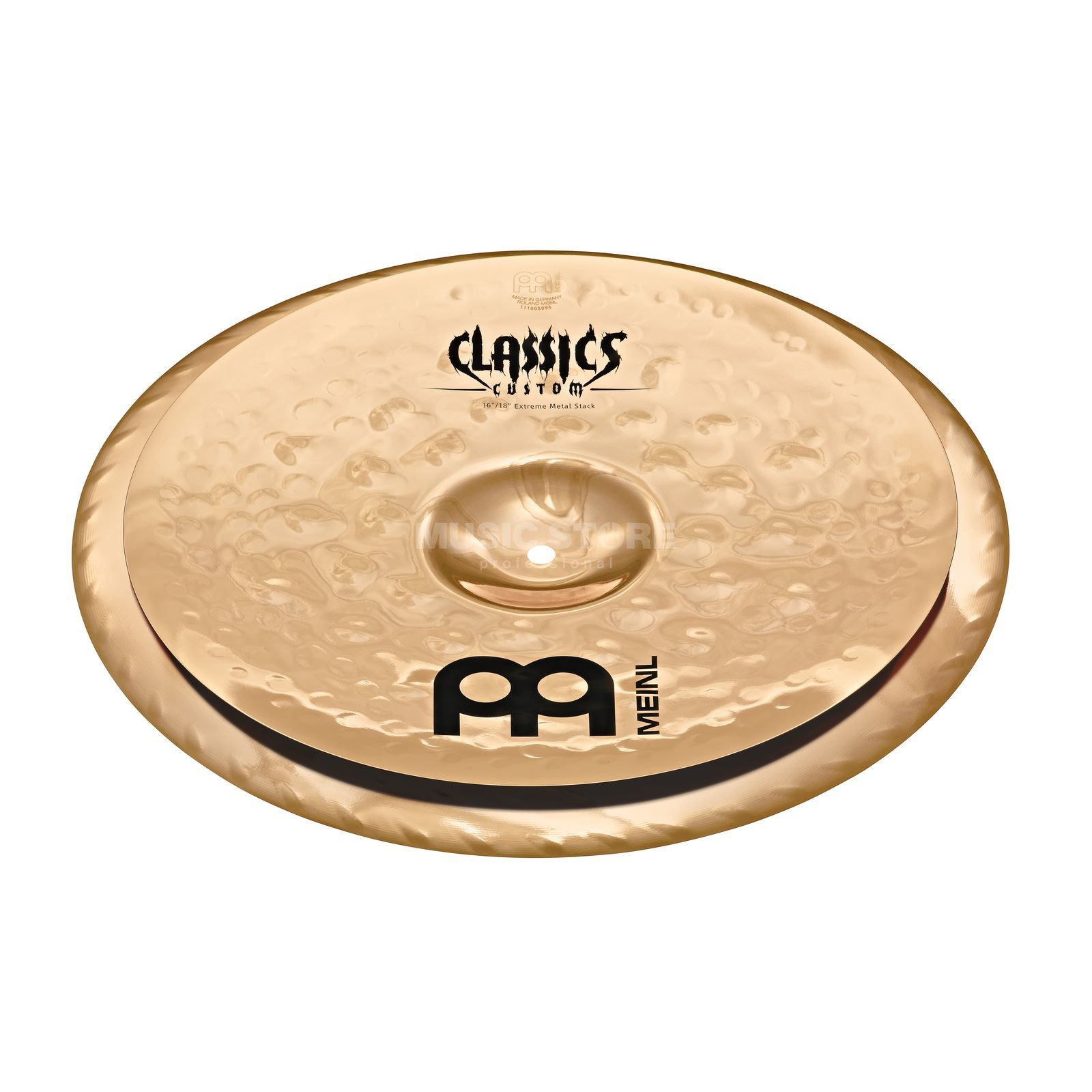 "Meinl Classics Custom Stack 16""/18"", CC16/18EMS-B, Extreme Metal Produktbillede"