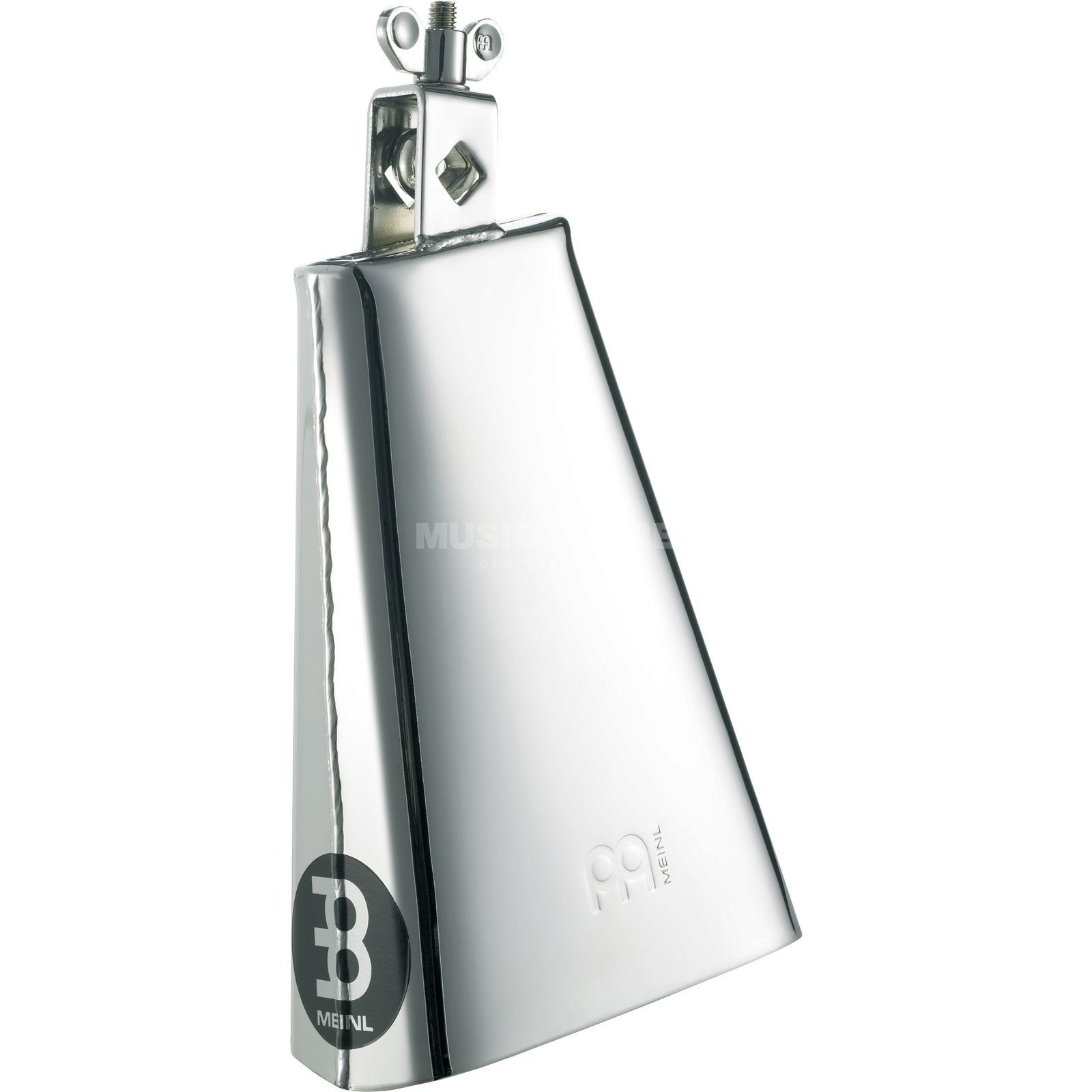 "Meinl Cowbell STB80B-CH, 8"", Big Mouth, Chrome Steel Produktbild"
