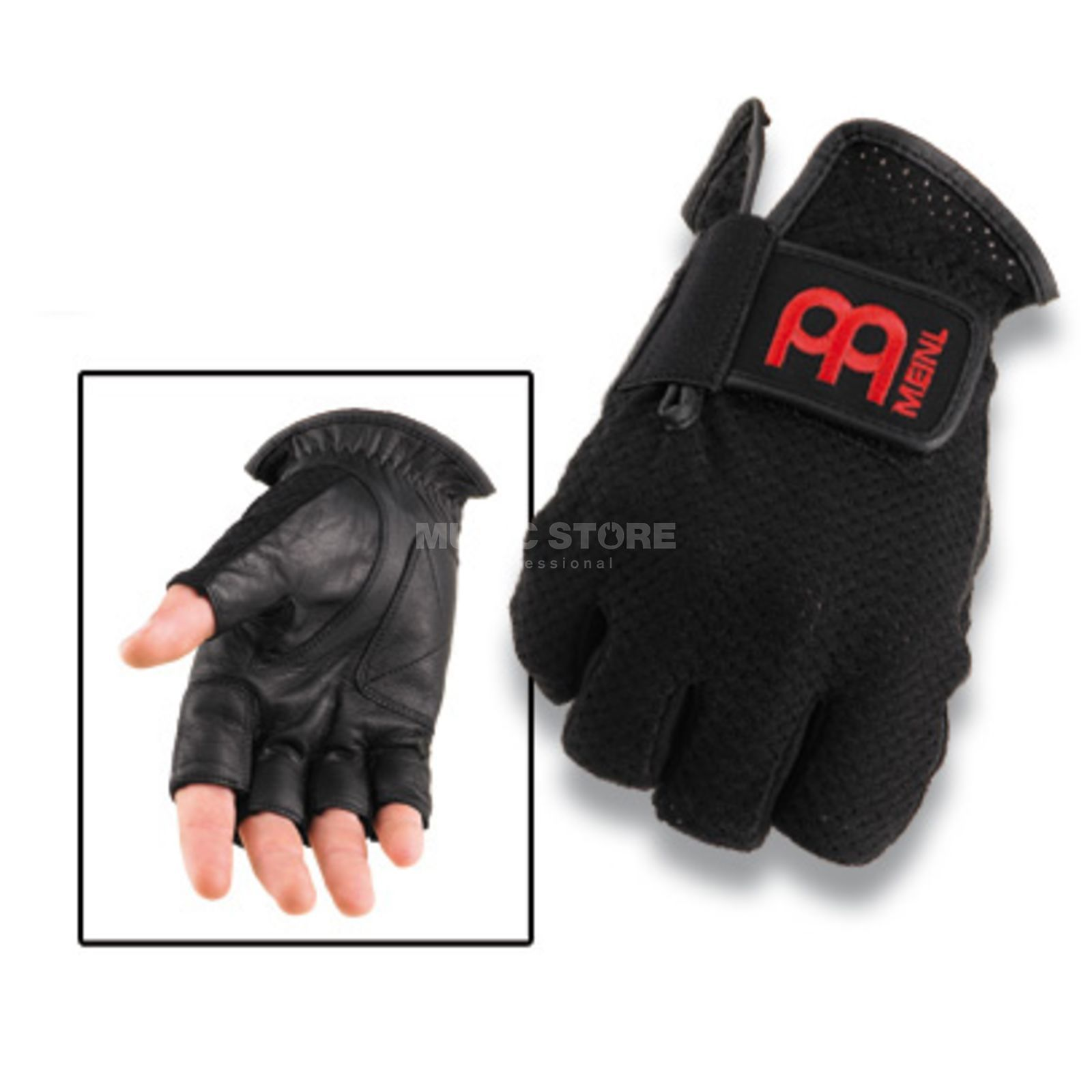 Meinl Drummer Gloves MDGFL-XL, medium, w/o fingers Produktbillede