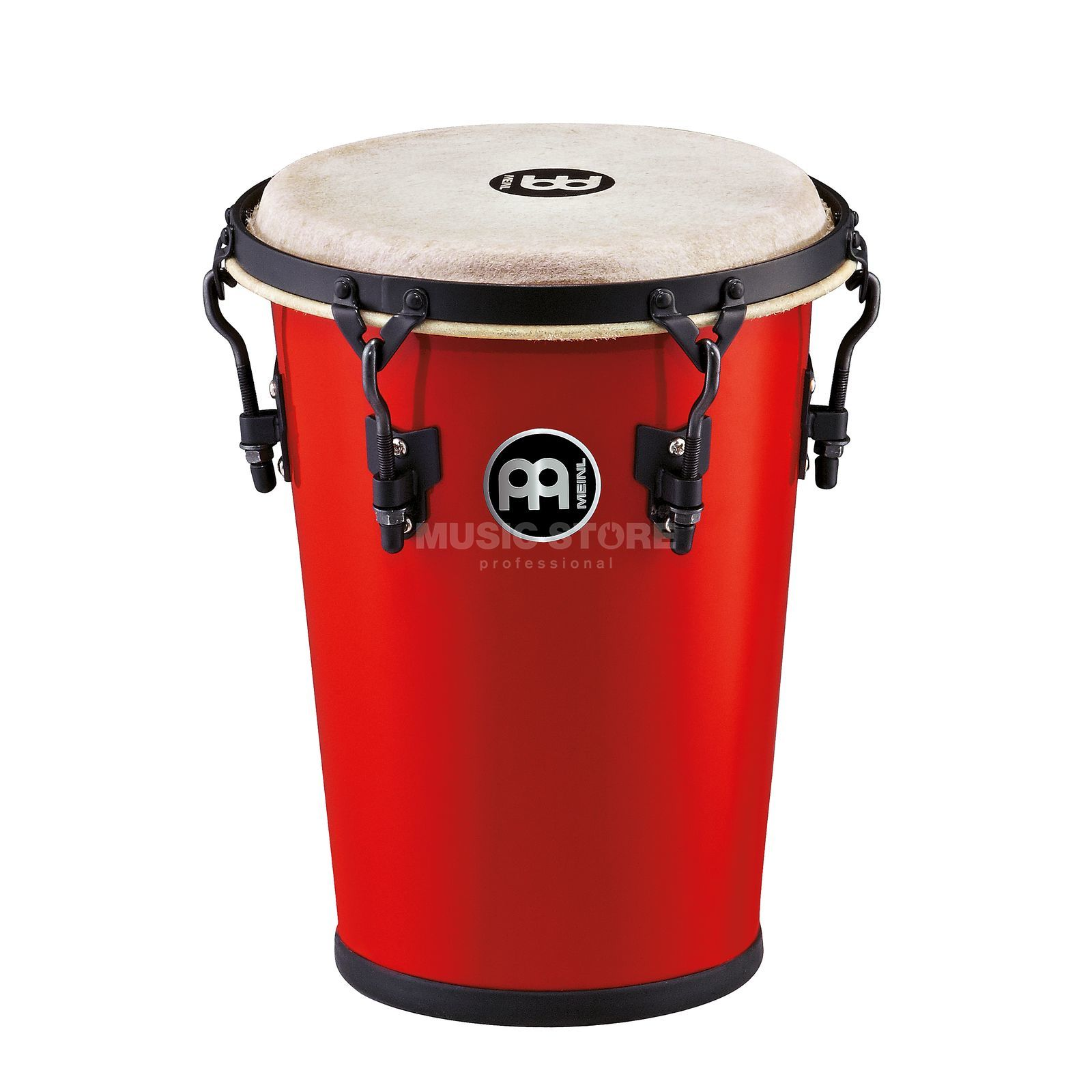 "Meinl Family Drum HFDD2R, 8""x11 1/4"" Fiberglass, Red Product Image"