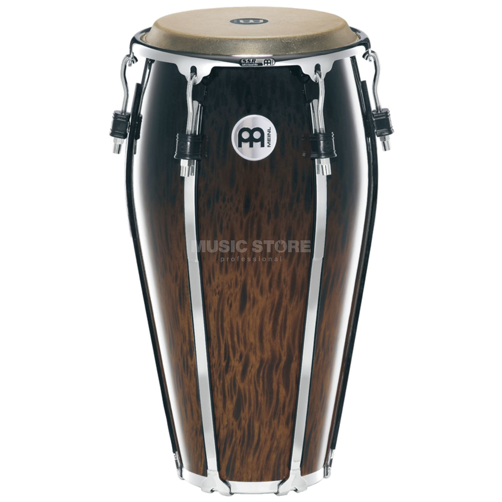 "Meinl Floatune Conga FL12BB, 12"", Brown Burl #BB Productafbeelding"