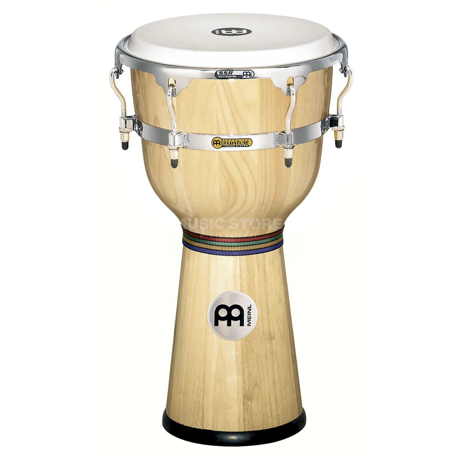 "Meinl Floatune Djembe 12"", DJW3-NT, Natural Product Image"