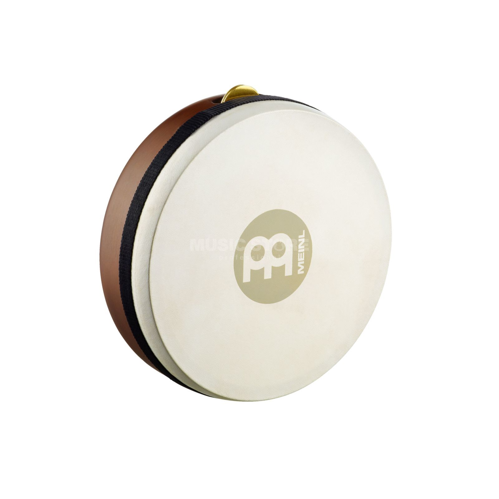 "Meinl Frame Drum Kanjira FD7KA, 7 1/2""x2 1/4"", African Brown Product Image"