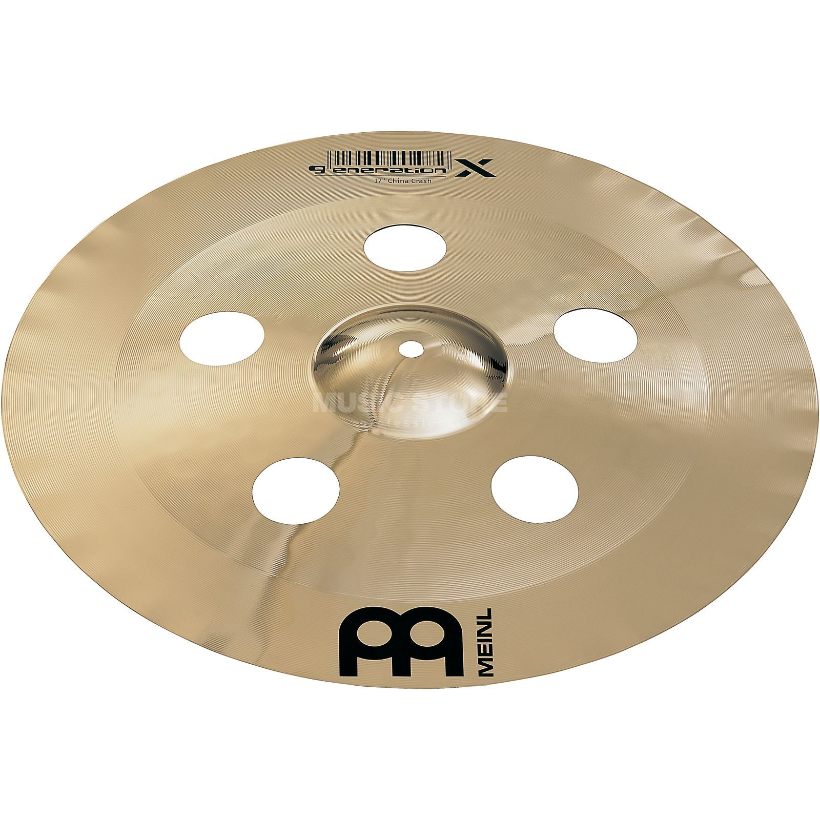 "Meinl Generation X China Crash 17"", GX-17CHC-B Produktbillede"