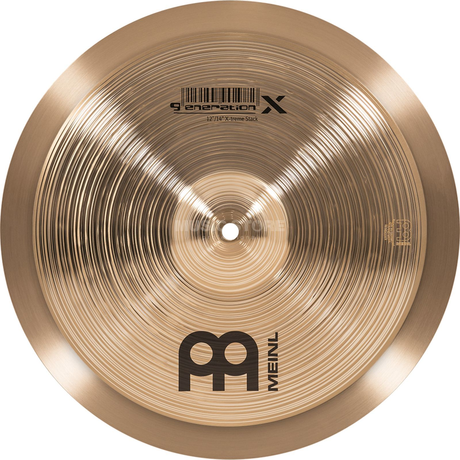 "Meinl Generation X Extreme Stack 12""/14"", GX-12/14XTS Product Image"