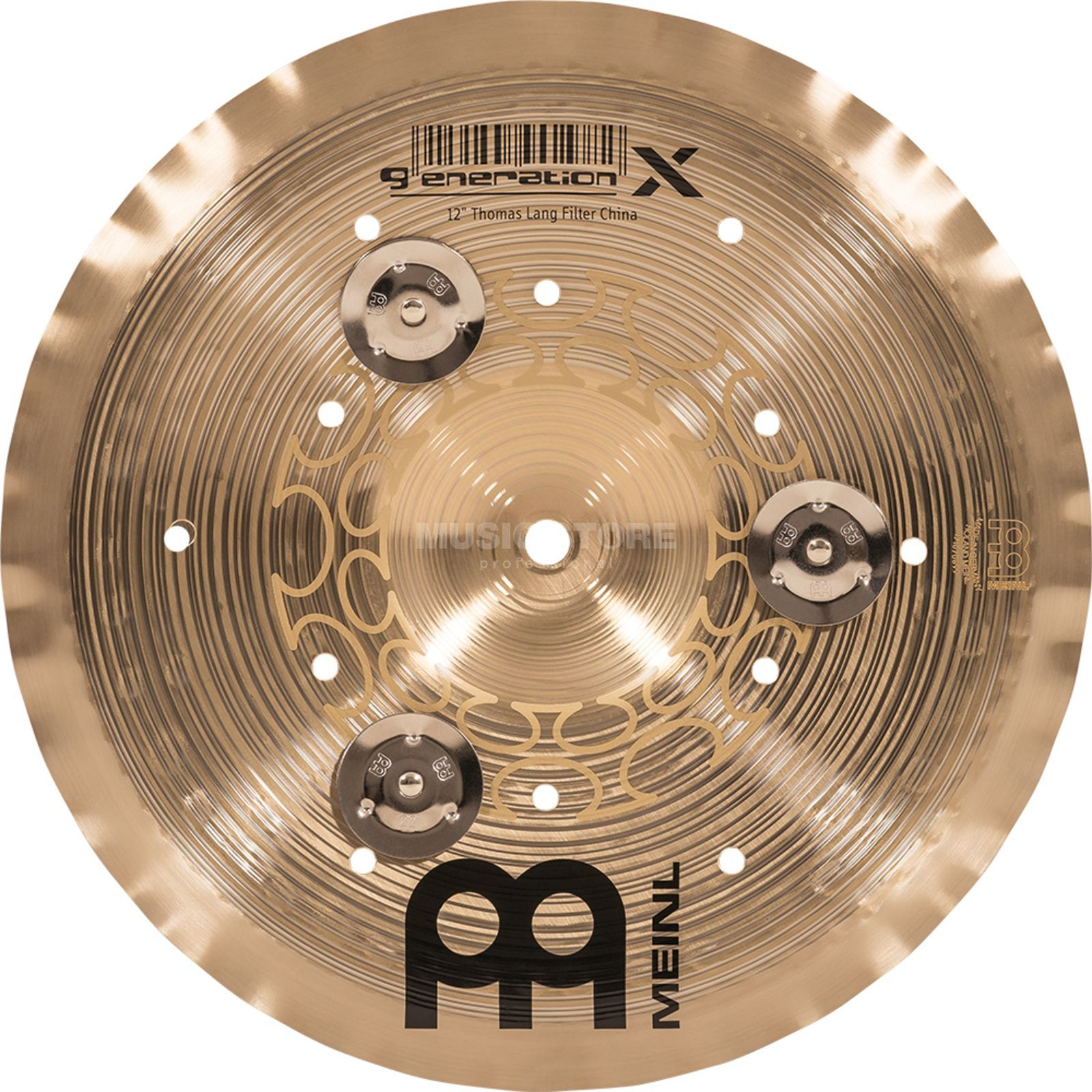 "Meinl Generation X Filter China 12"" GX-12FCH-J, with Jingles Productafbeelding"