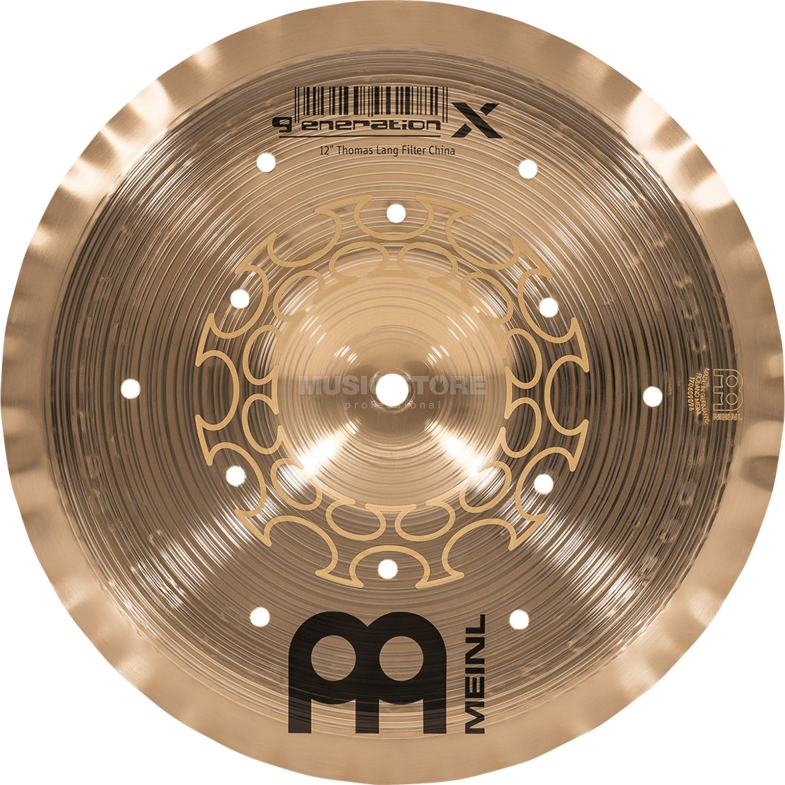 "Meinl Generation X Filter China 12"", GX-12FCH Image du produit"