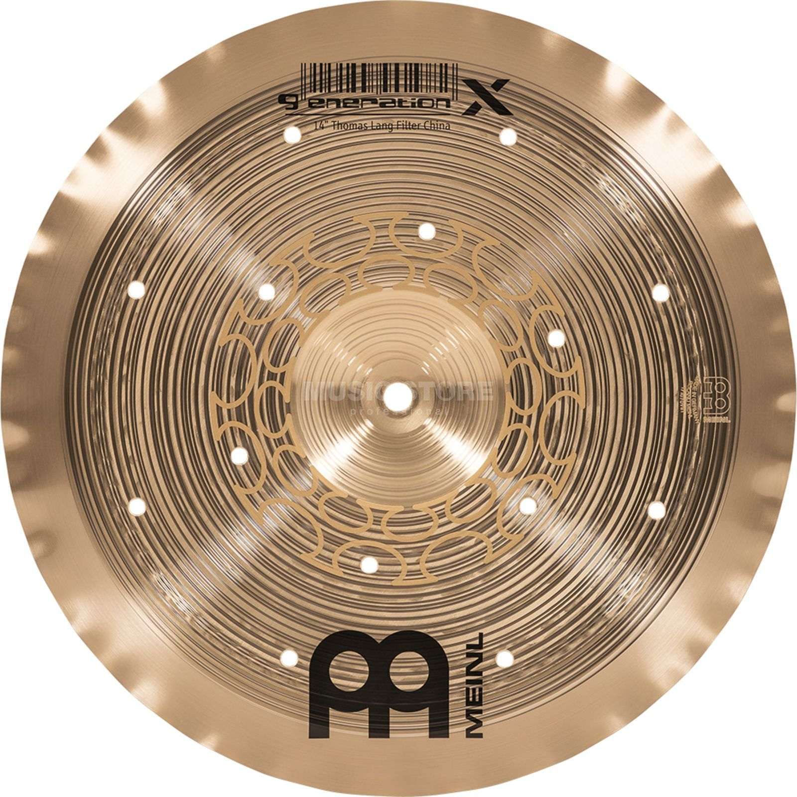 "Meinl Generation X Filter China 14"", GX-14FCH Produktbillede"