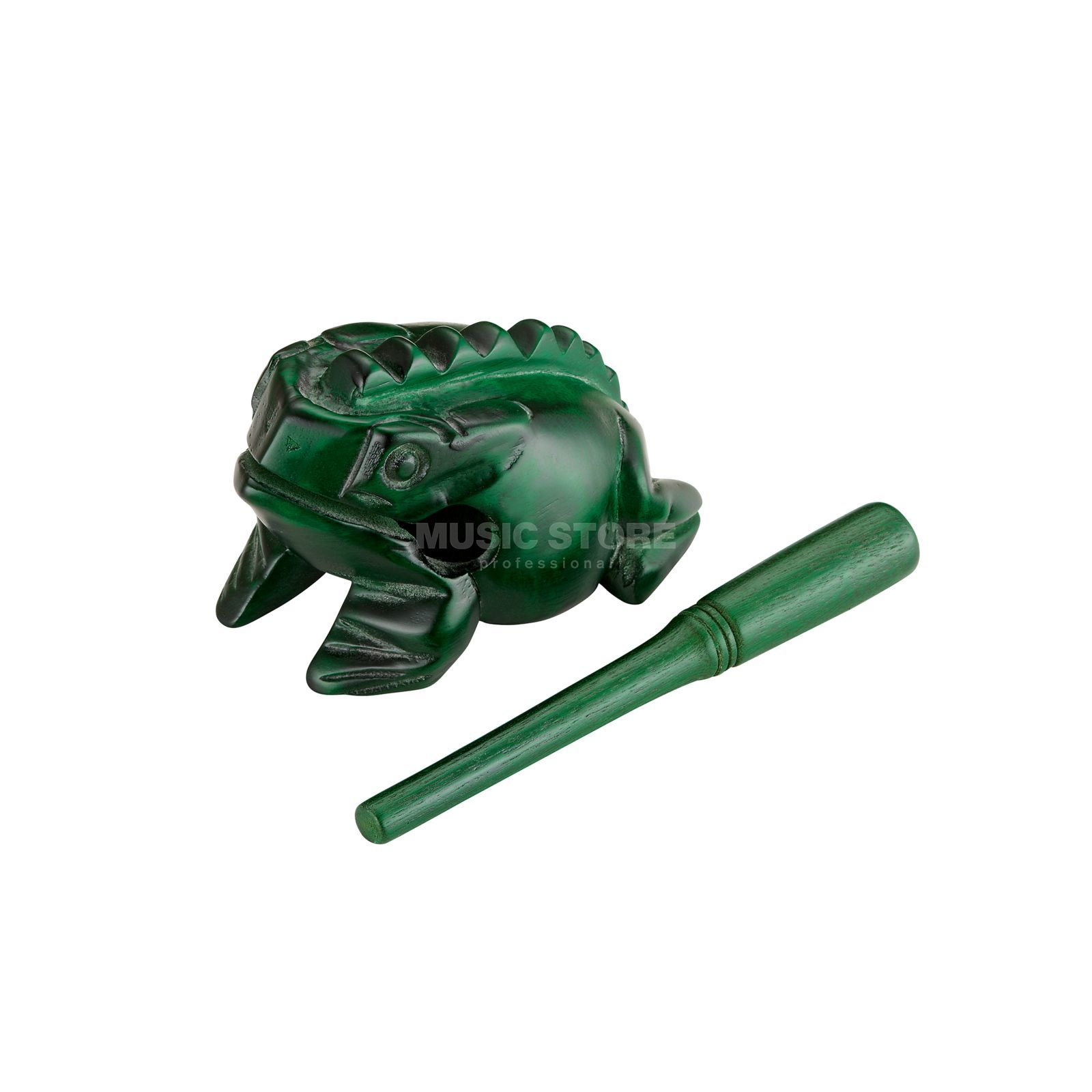 Meinl Guiro Frog NINO514GR, medium, green Изображение товара