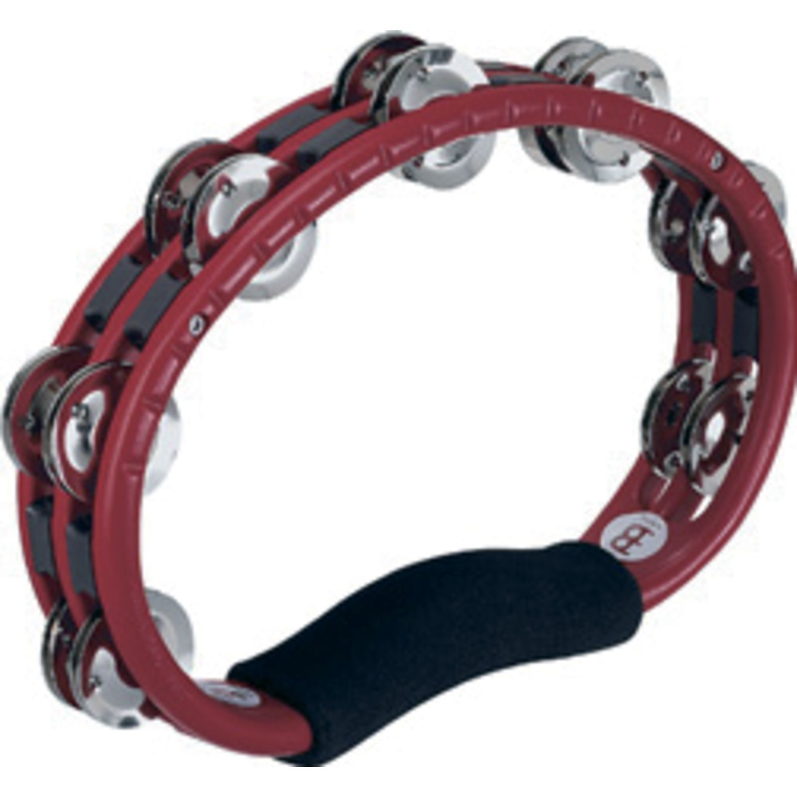 Meinl Hand Tambourine TMT1R, Steel Jingles Product Image