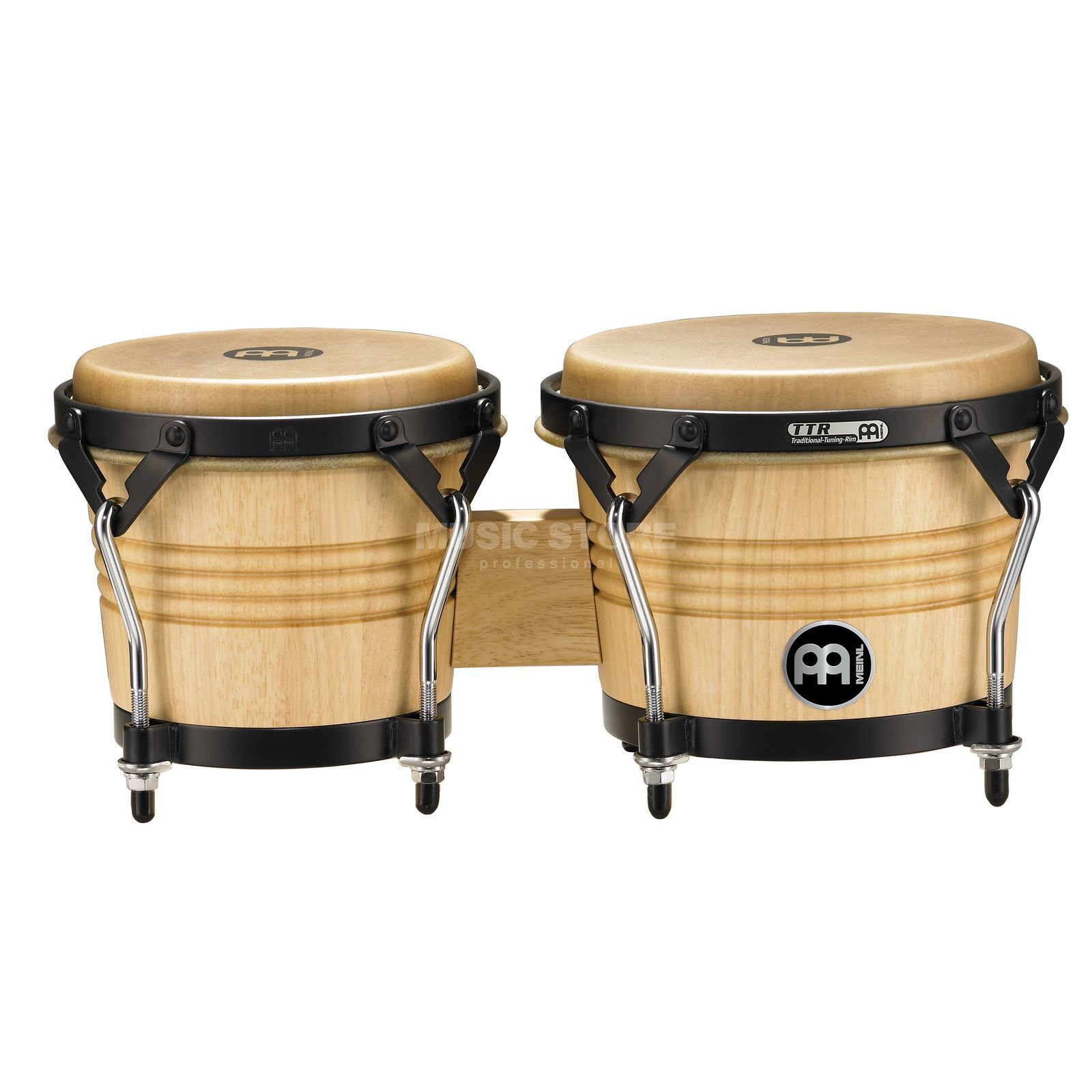 Meinl LC300NT-M Artist Bongos, Natural Product Image