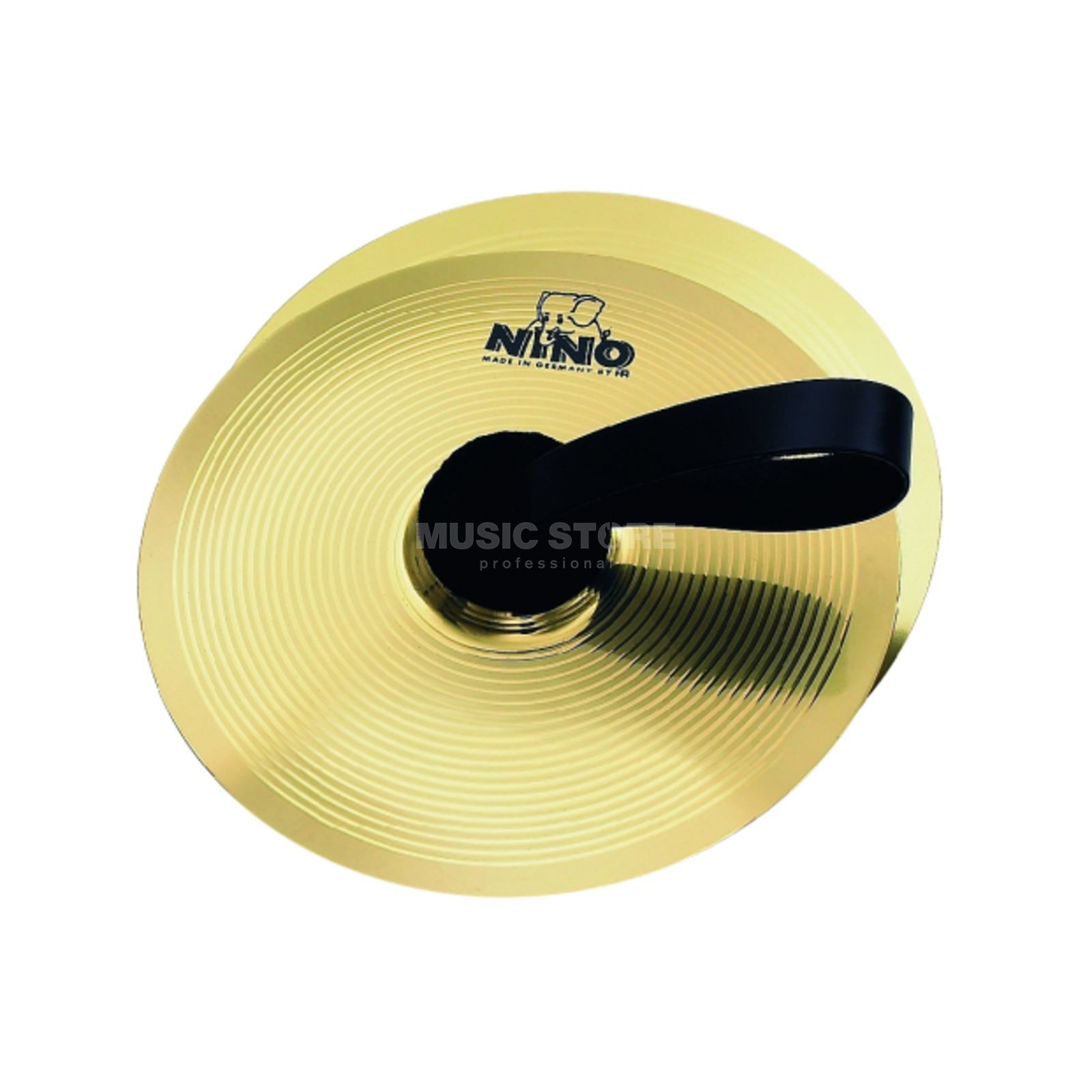 "Meinl Marching Cymbal NINO-BR20, 8"", Brass Product Image"