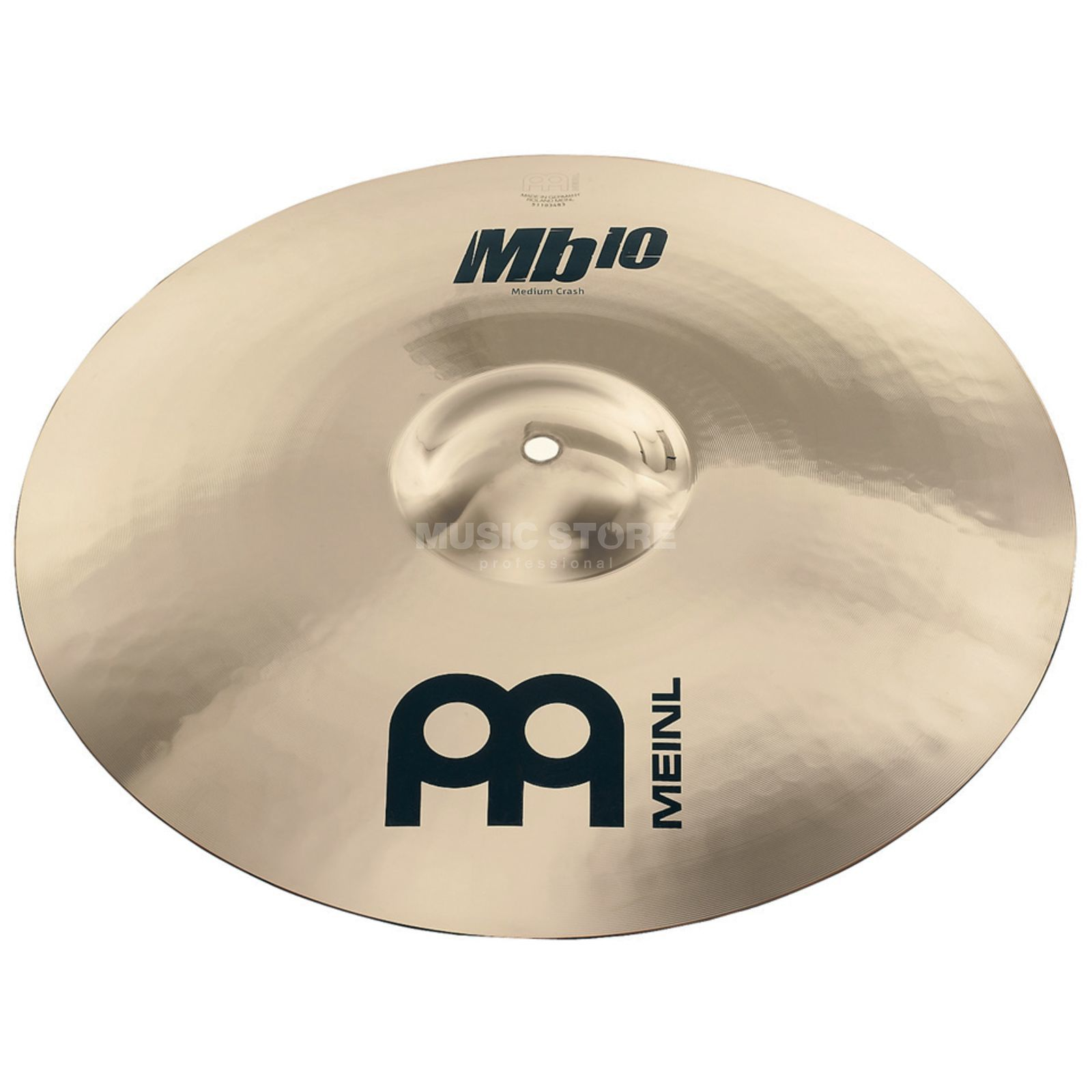 "Meinl MB10 Medium Crash 16"" MB10-16MC-B, Brilliant Finish Immagine prodotto"