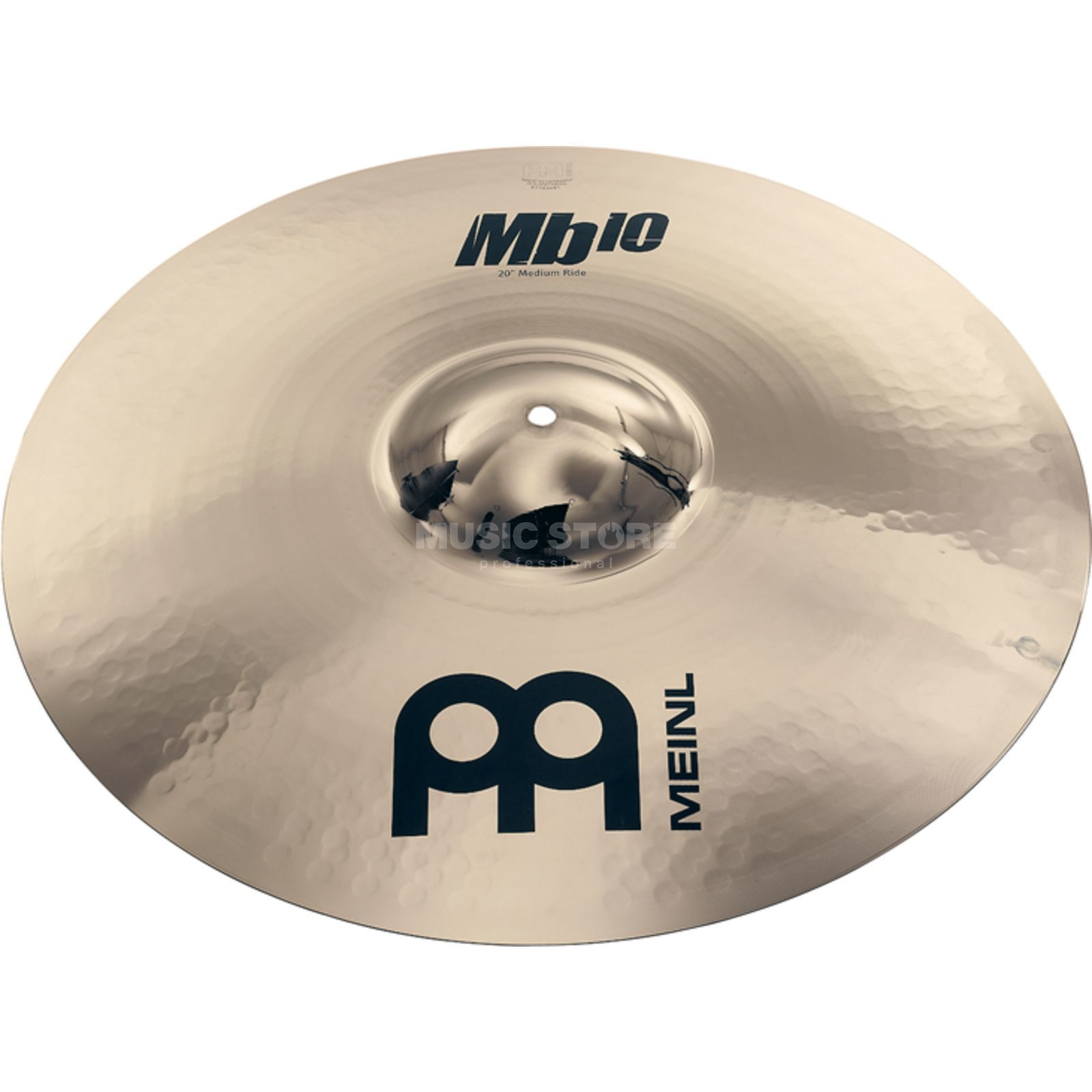 "Meinl MB10 Medium Ride 20"" MB10-20MR-B, Brilliant Finish Produktbillede"