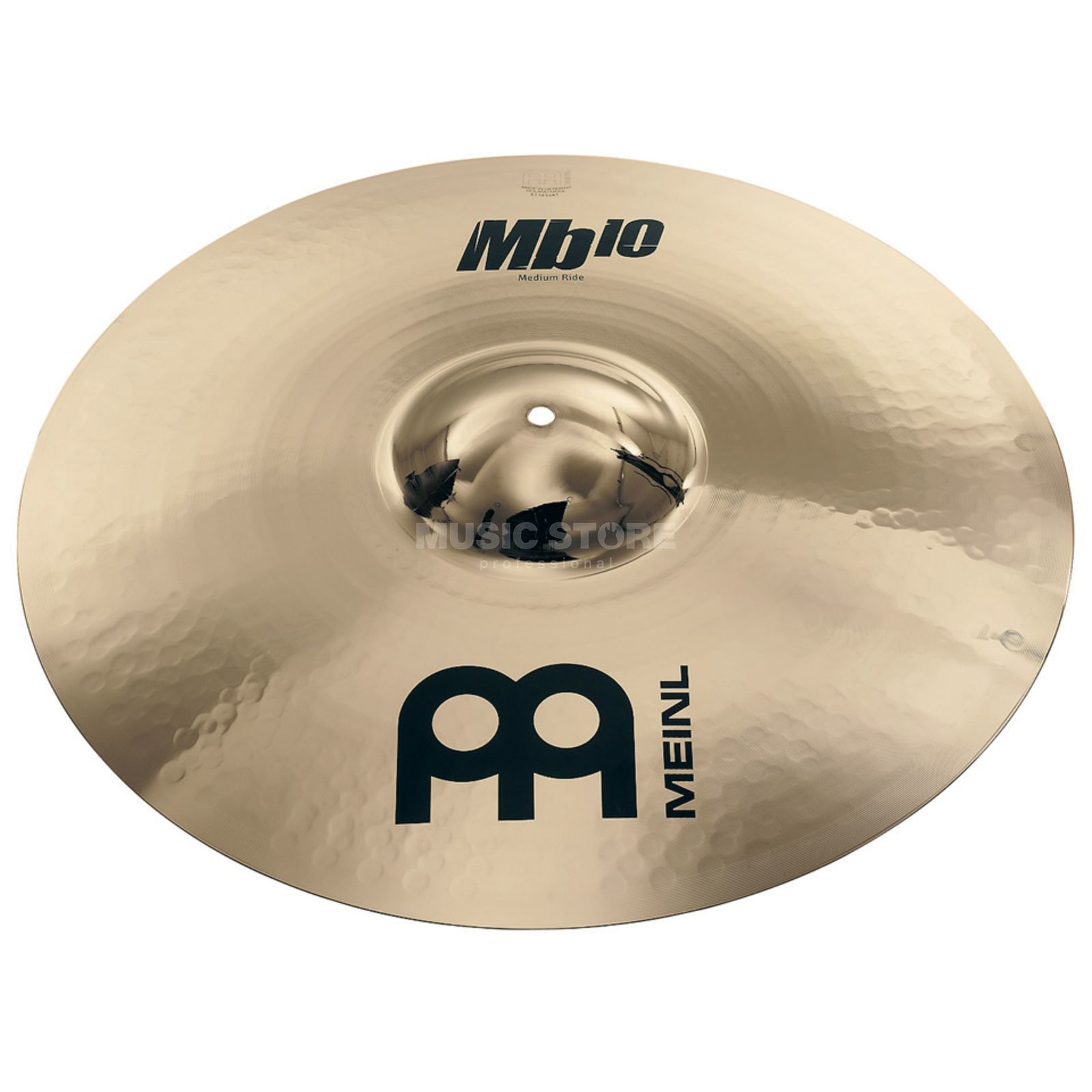 "Meinl MB10 Medium Ride 21"" MB10-21MR-B, Brilliant Finish Produktbillede"